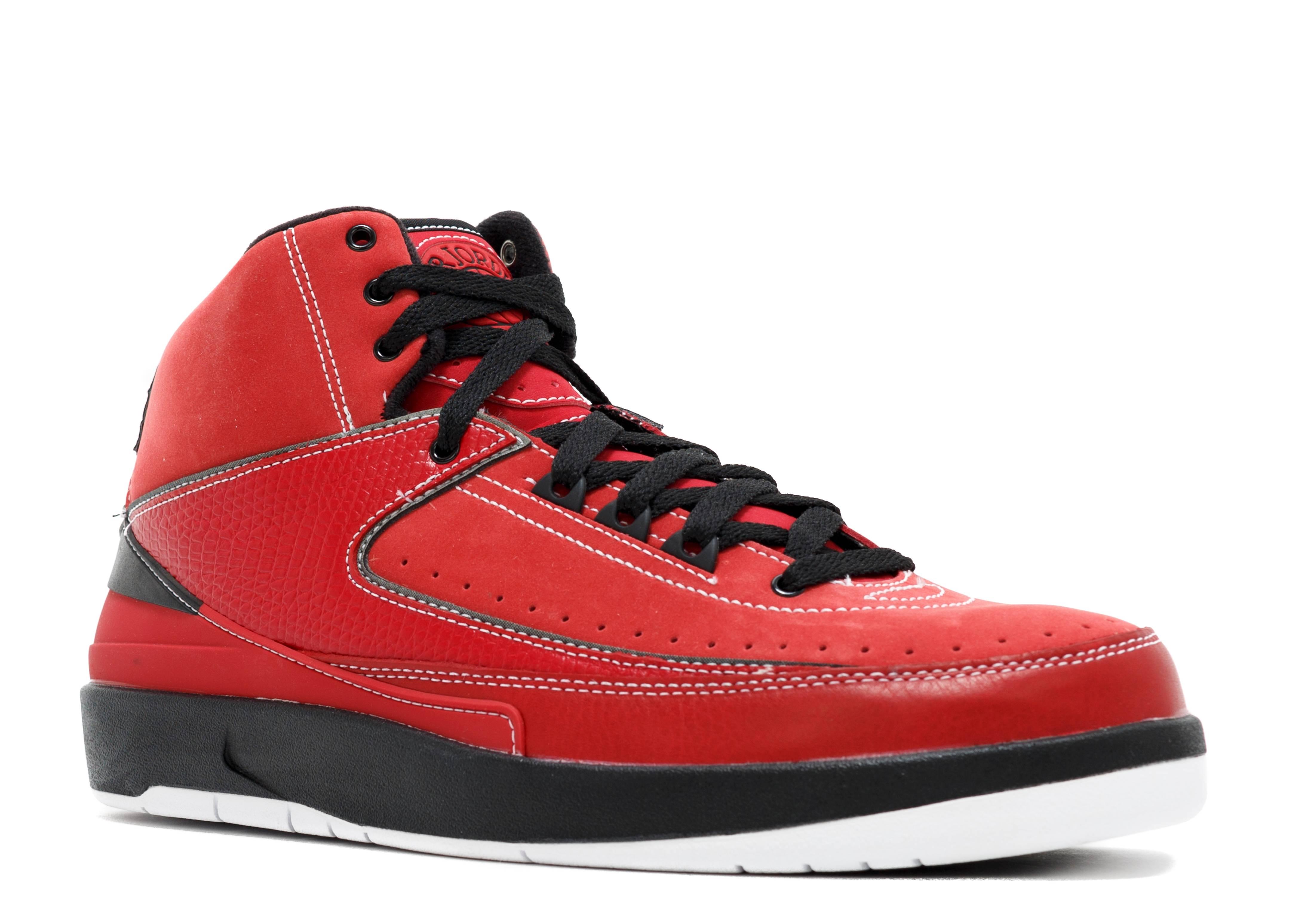 red and black jordan 2