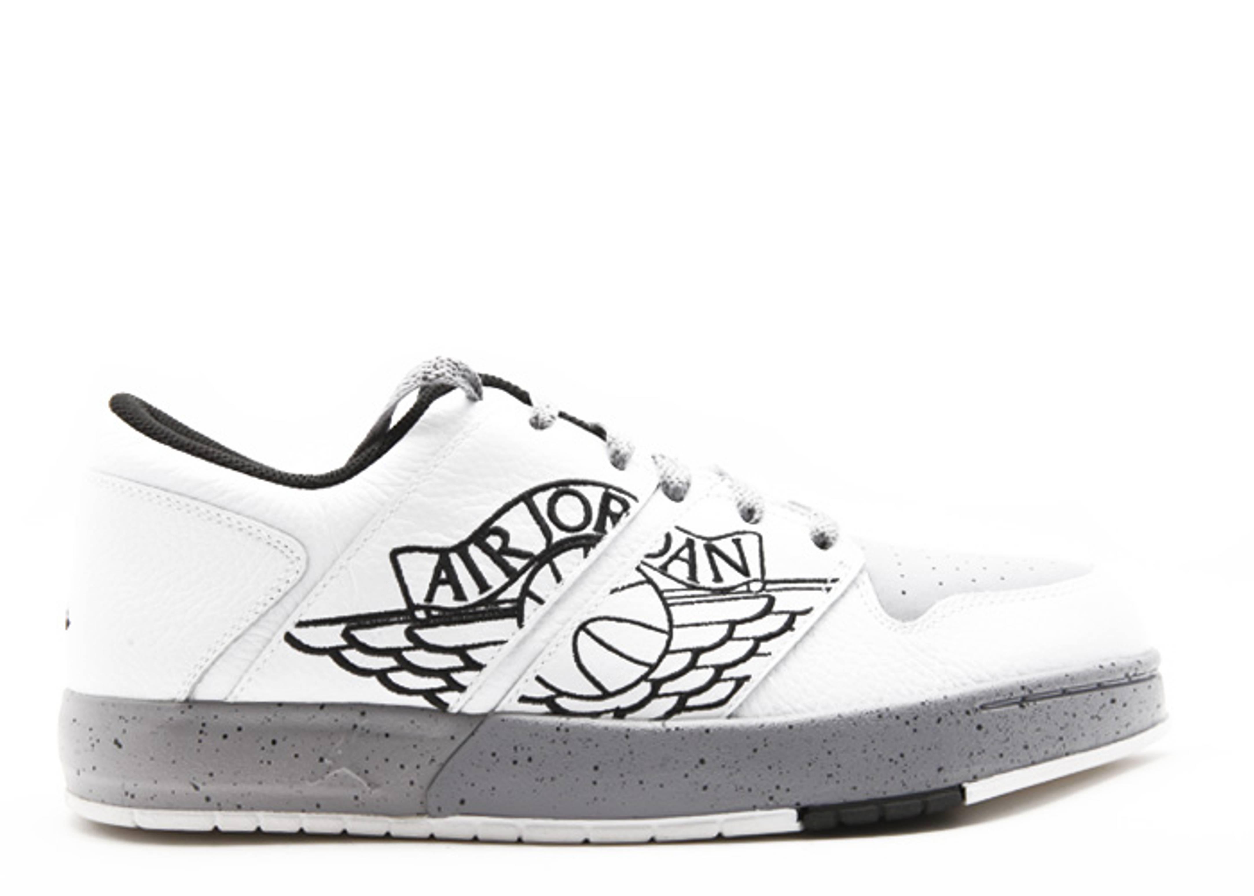 f9ddac69d0a7eb Nu Retro 1 Low - Air Jordan - 317163 106 - white black-cement grey ...