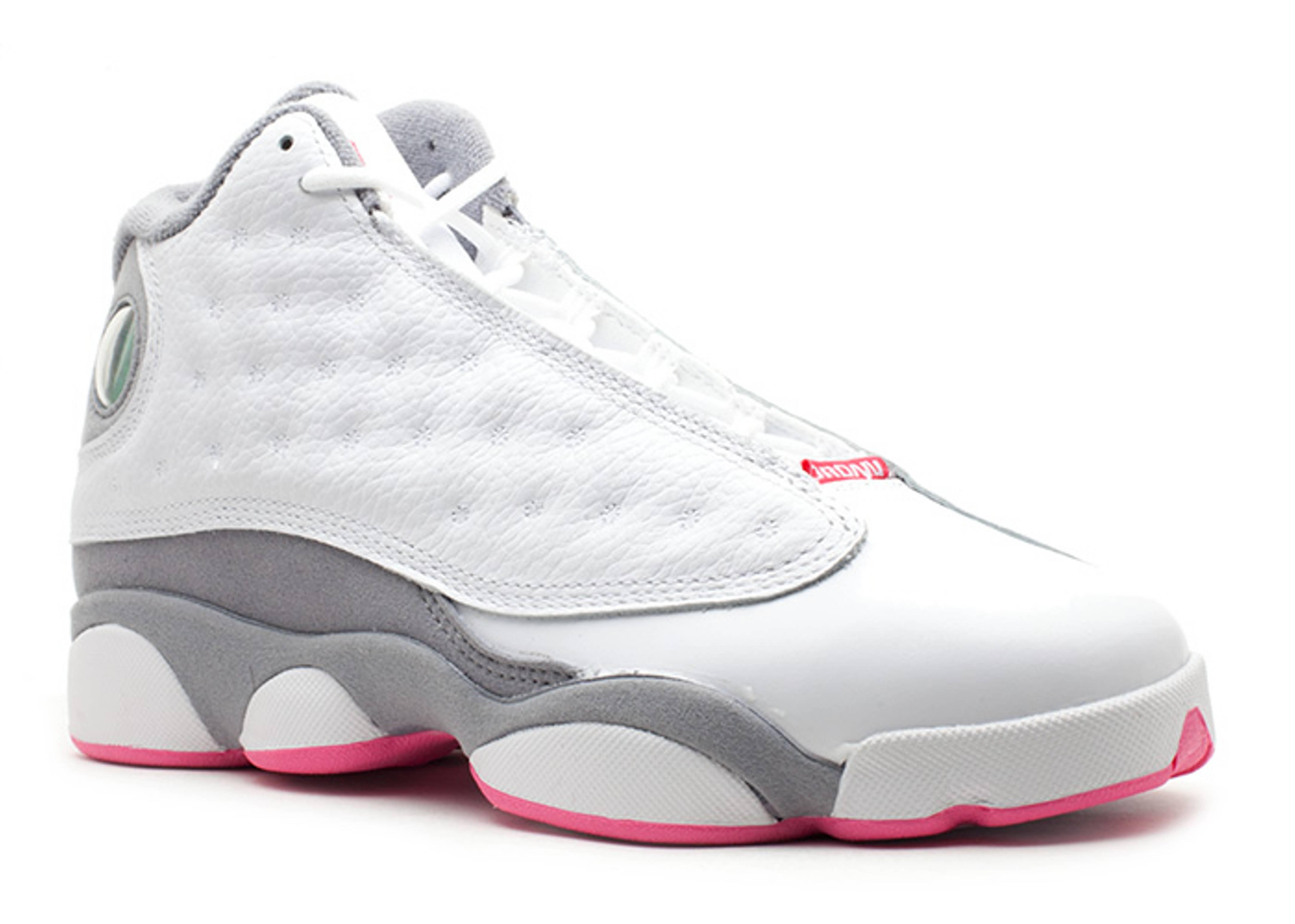 ab0cdecf1fb722 Girls Air Jordan 13 (gs) - Air Jordan - 439358 101 - white spark-stealth
