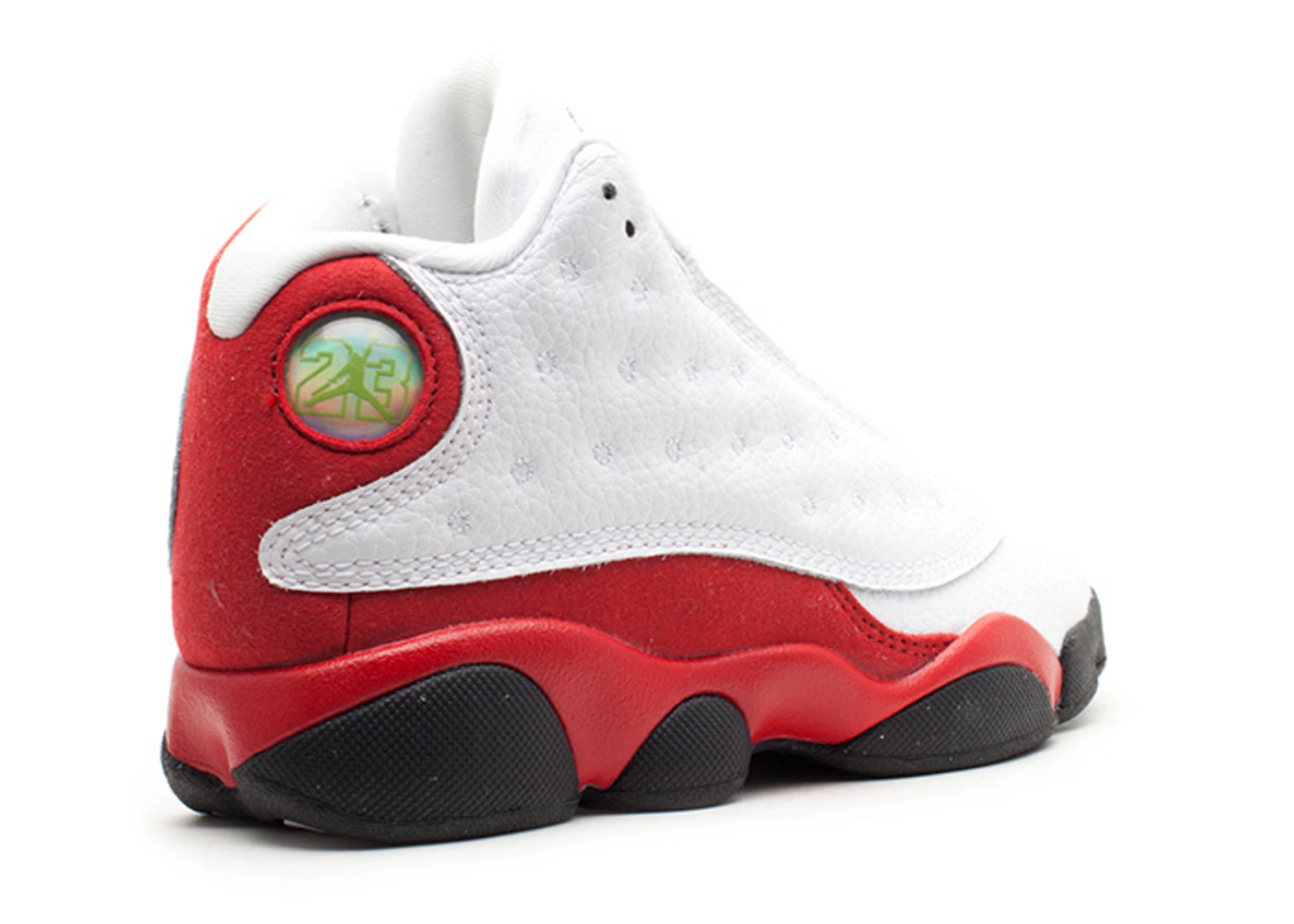 ed8cbf9372661b Jordan 13 Retro (ps) - Air Jordan - 414575 101 - white black-varsity red