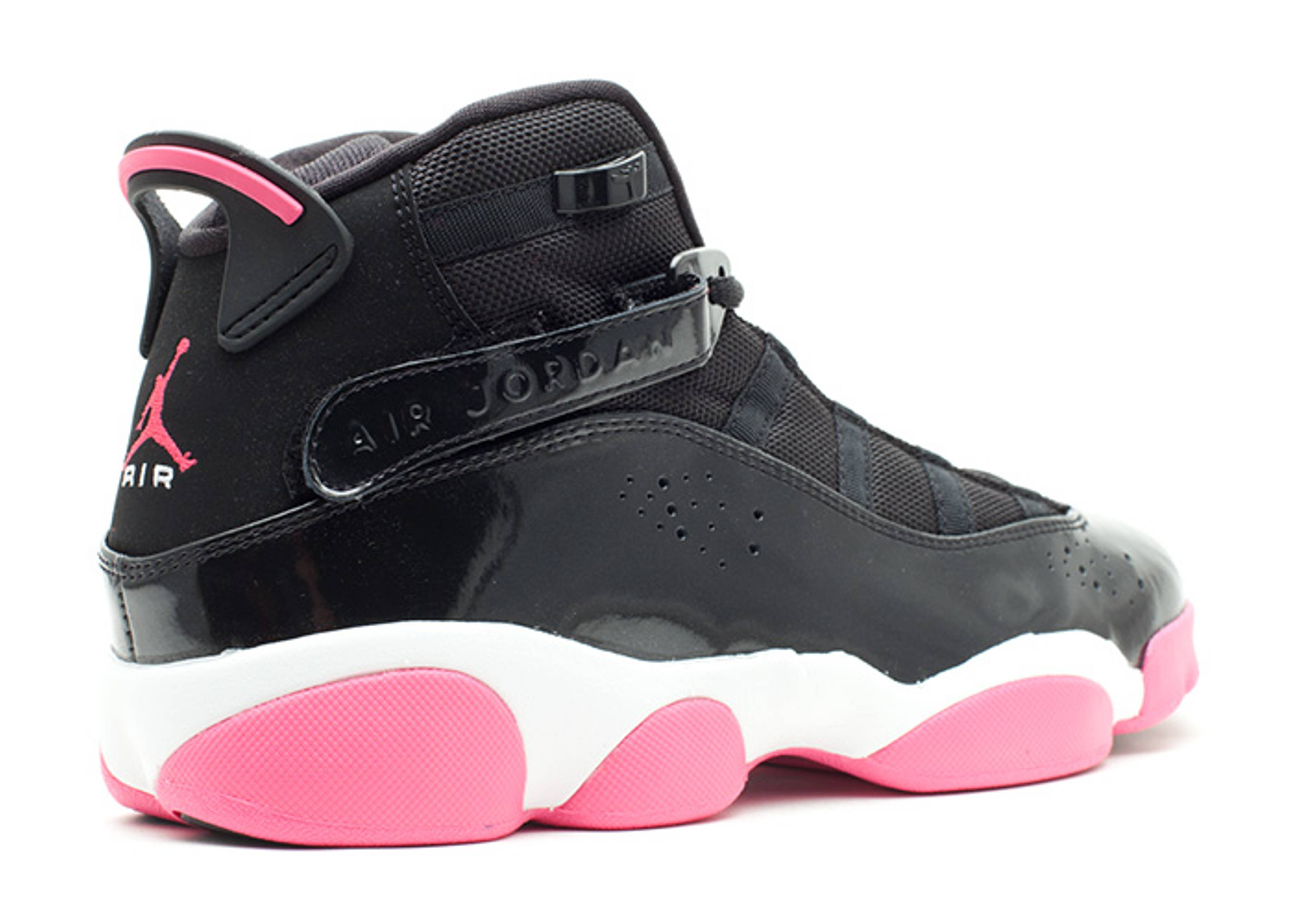 671a8135ae41 Girls Jordan 6 Rings (gs) - Air Jordan - 323399 001 - black spark-white
