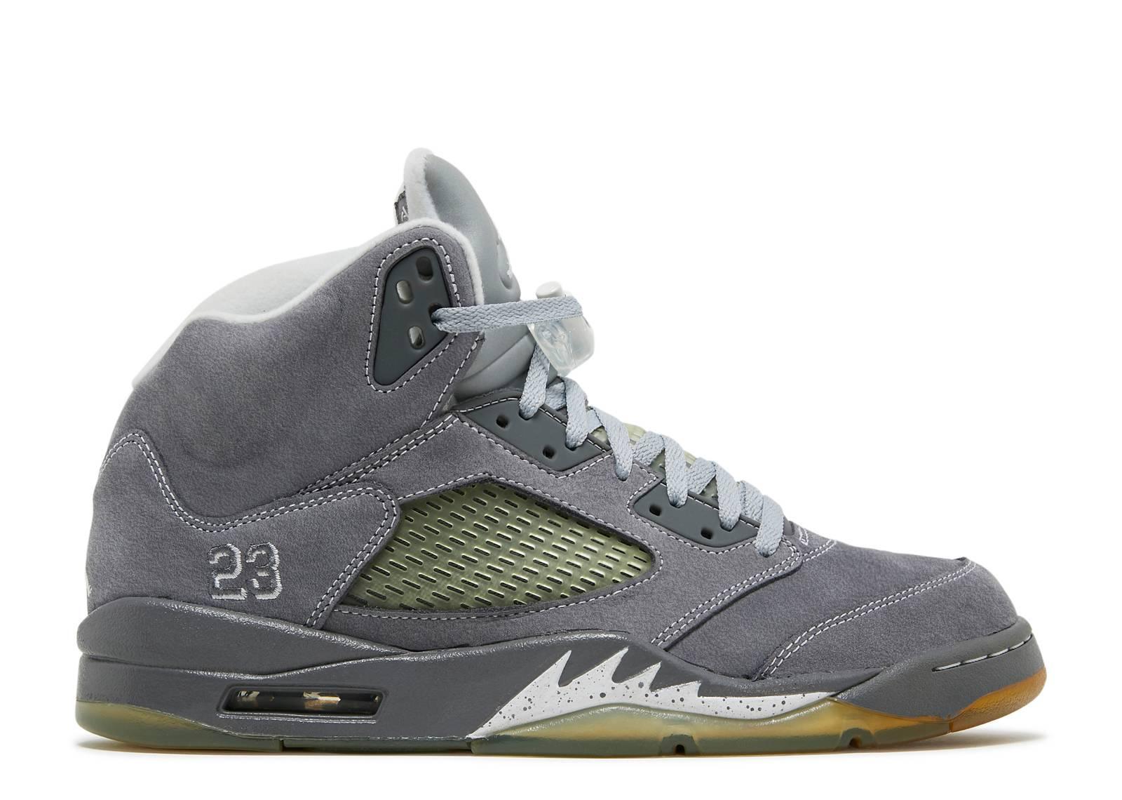 Air Jordan Grey Wolf