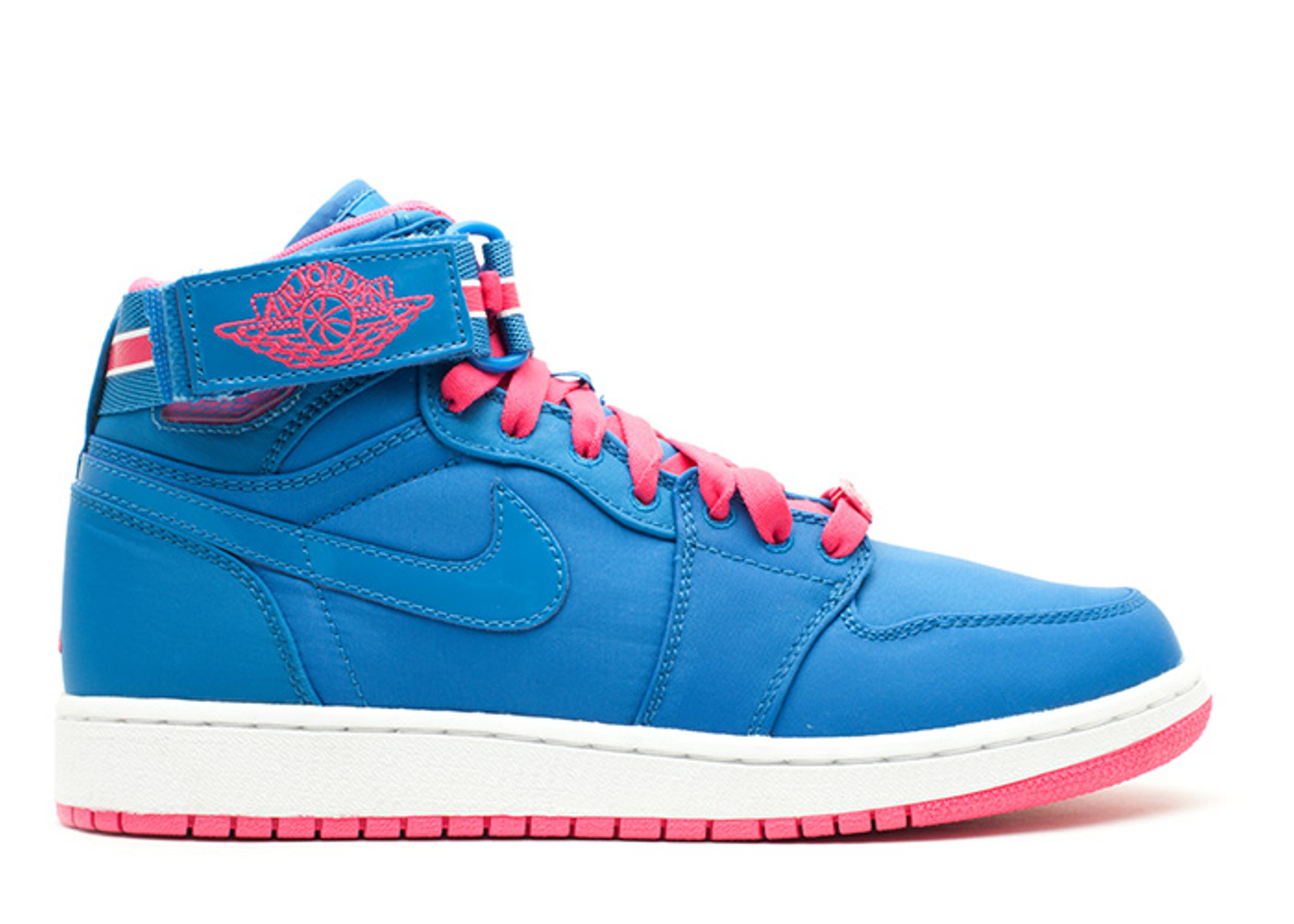 girls jordan 1 hi strap (gs)