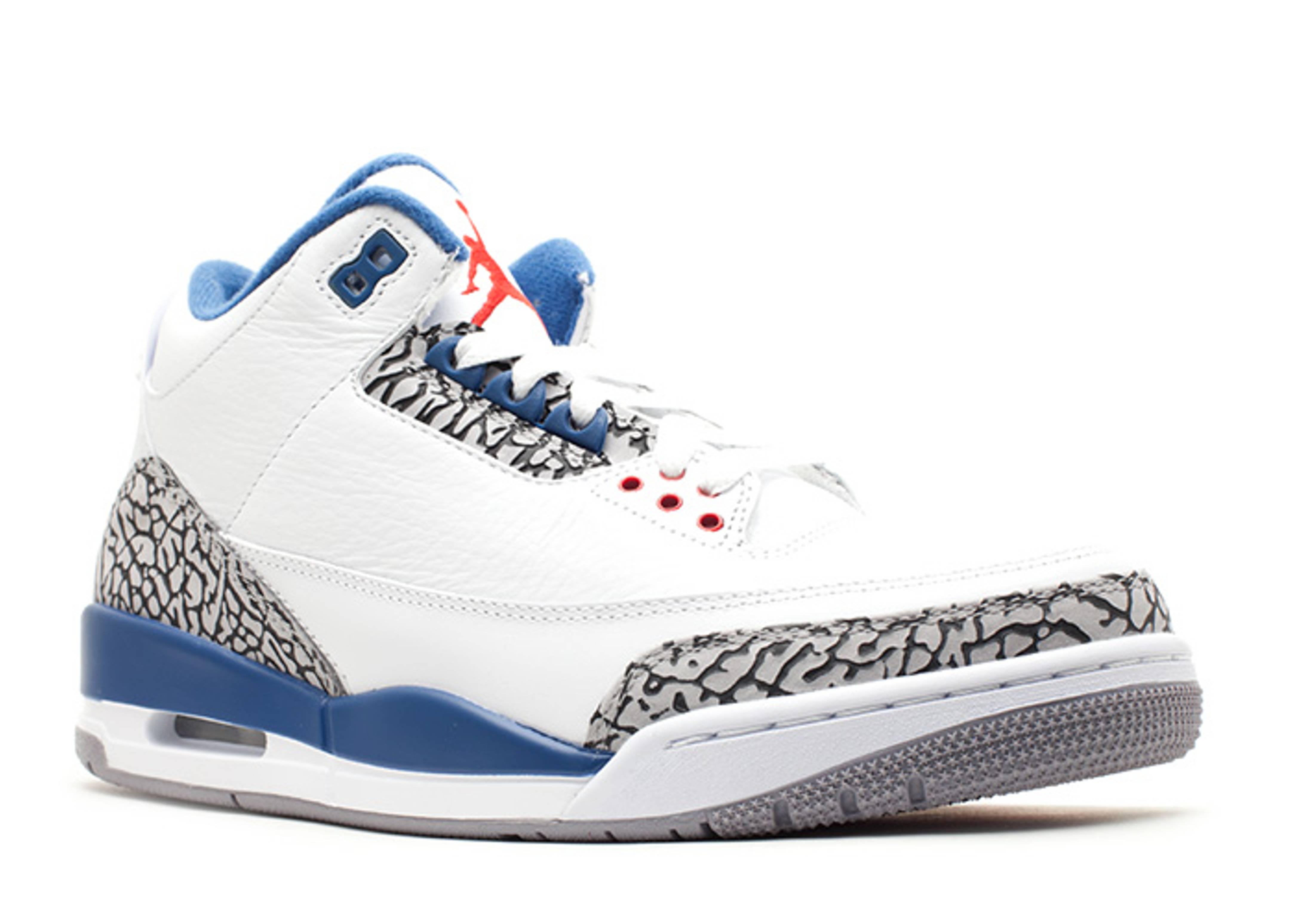 on sale e9b81 987d8 ... reduced air jordan 3 retro true blue 2011 release white true blue  0113912 4f48f 1b573