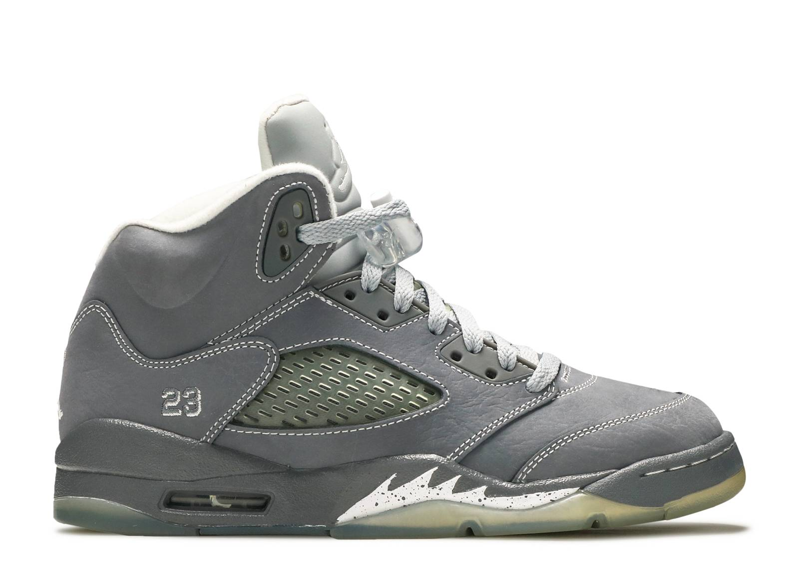 "air jordan 5 retro (gs) ""wolf grey"""