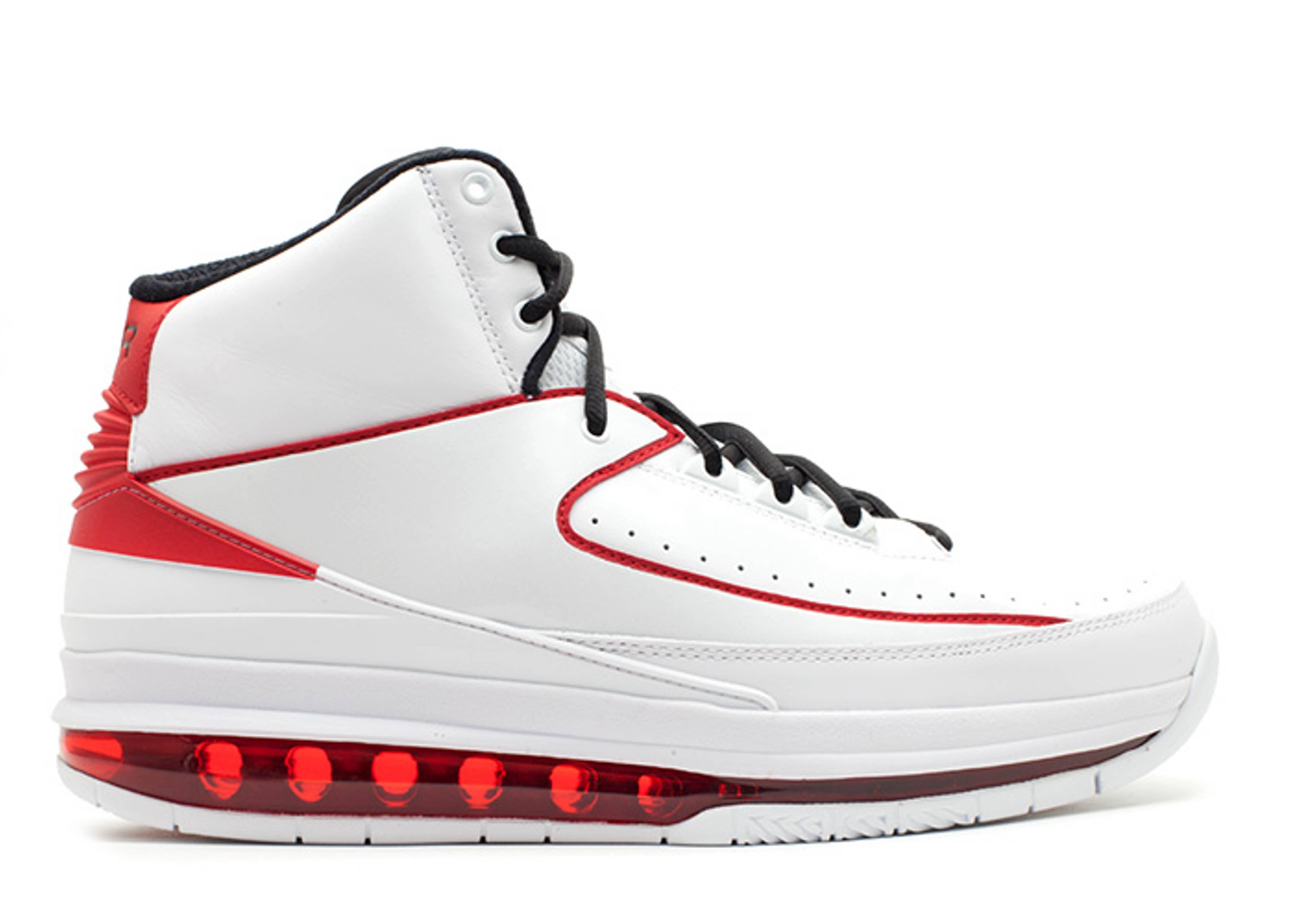 "air jordan 2.0 ""White Varsity Red"""