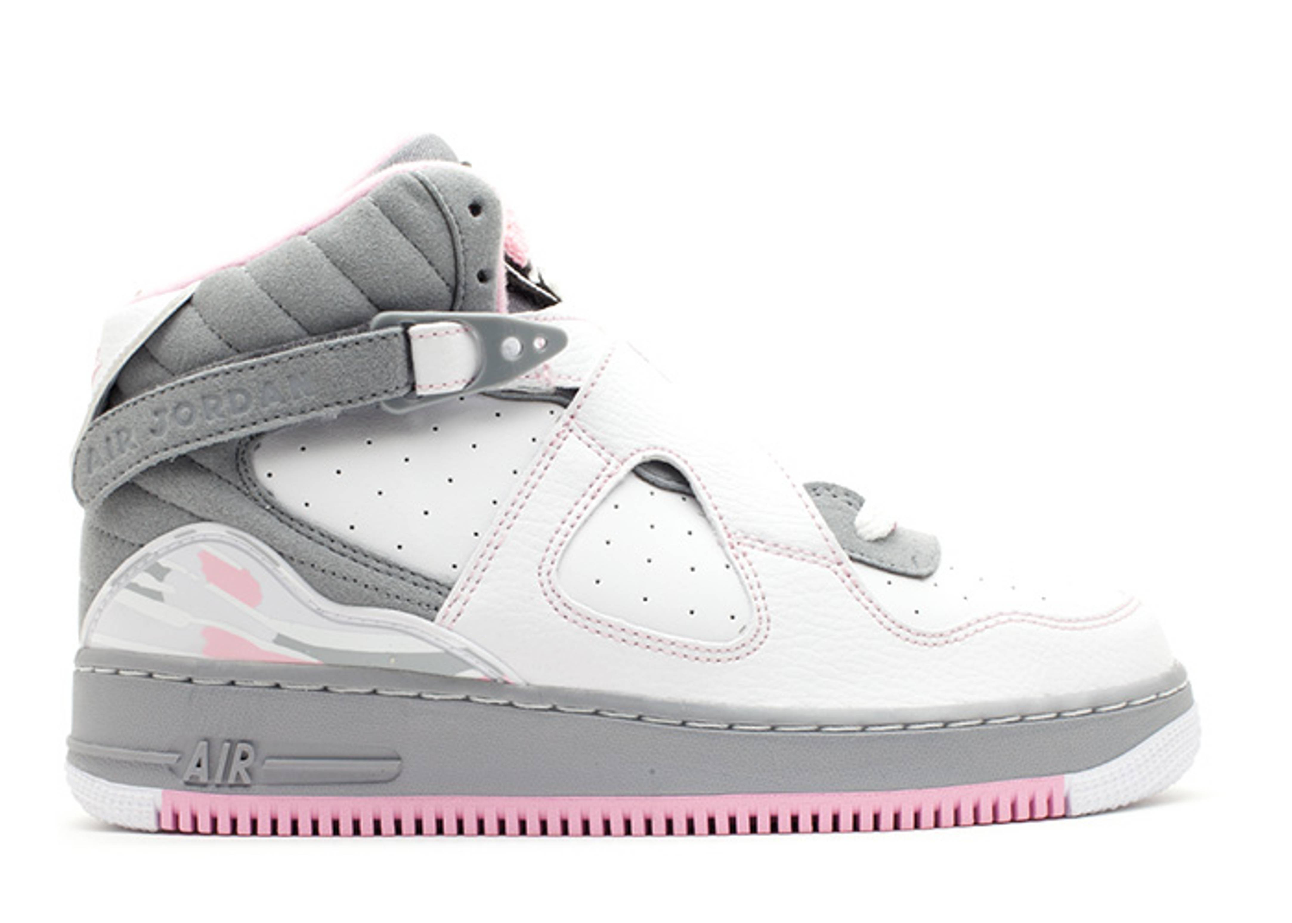 sale retailer b0b59 5aee4 Ajf 8 (gs) - Air Jordan - 385067 103 - white perfect pink-stealth ...