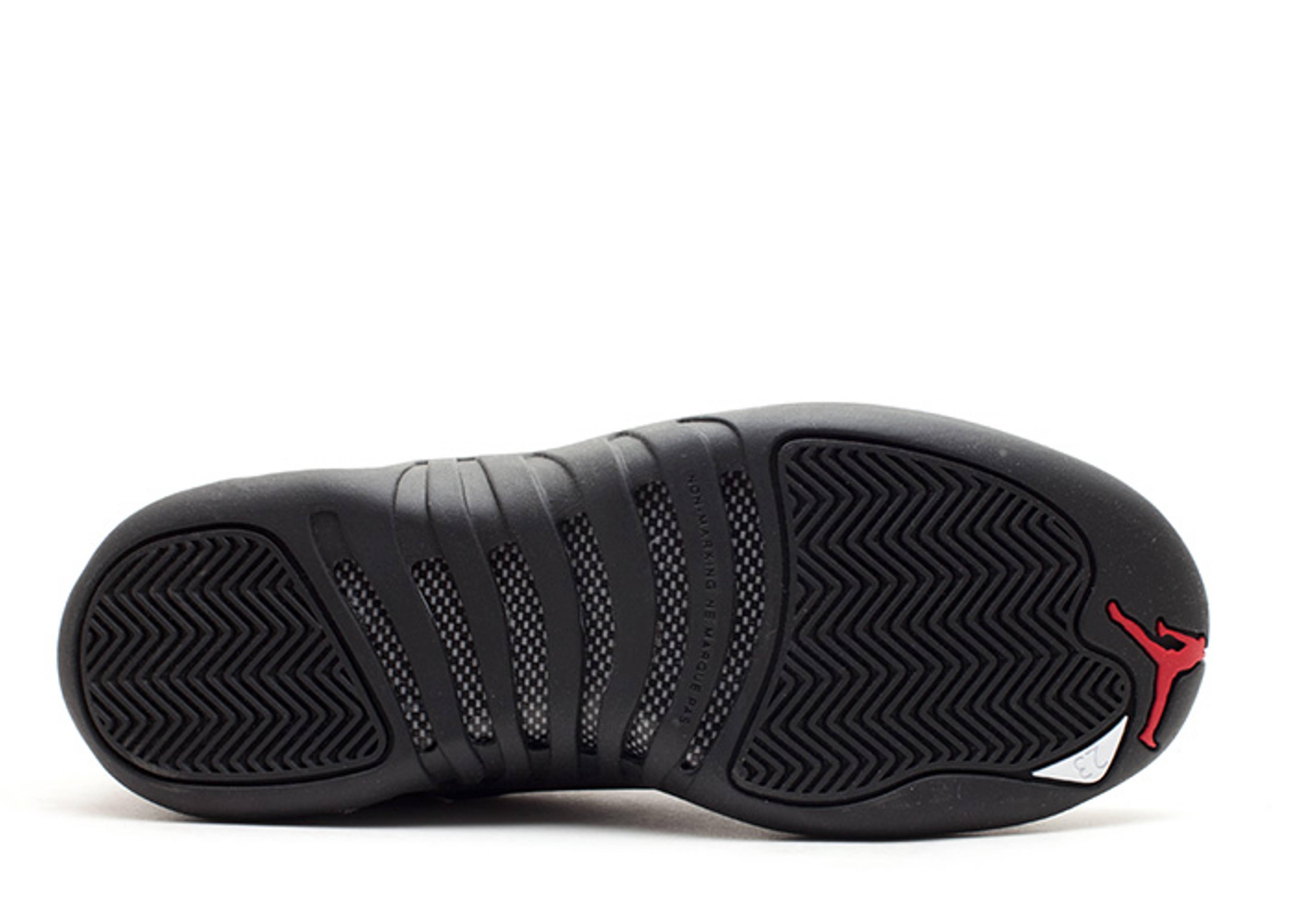 4f611d6a355b55 Air Jordan 12 Retro Low (gs) - Air Jordan - 308305 001 - black ...