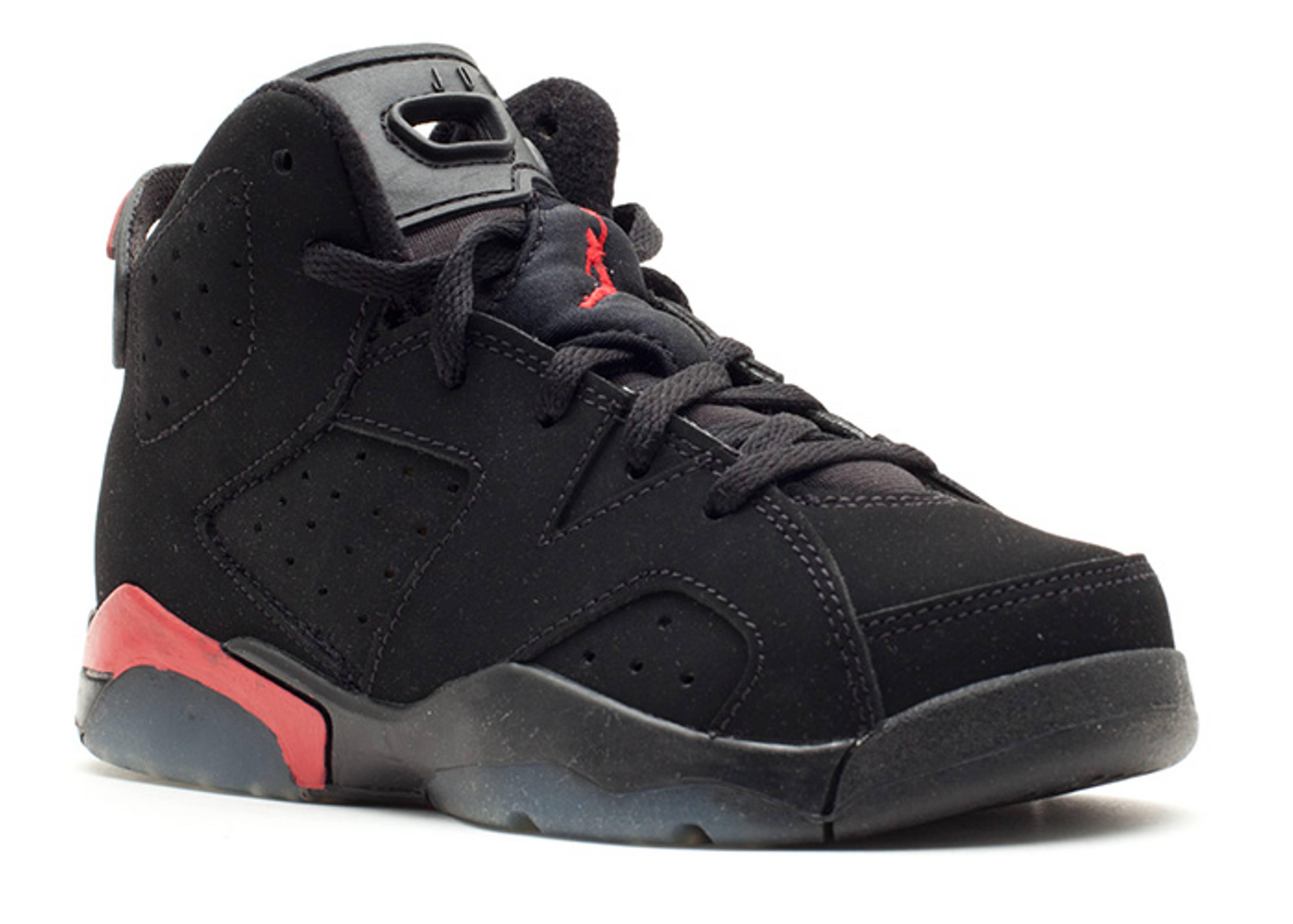 Air Jordan 6 Retro (ps) - Air Jordan - 384666 061 - black varsity ... 5db45fd78