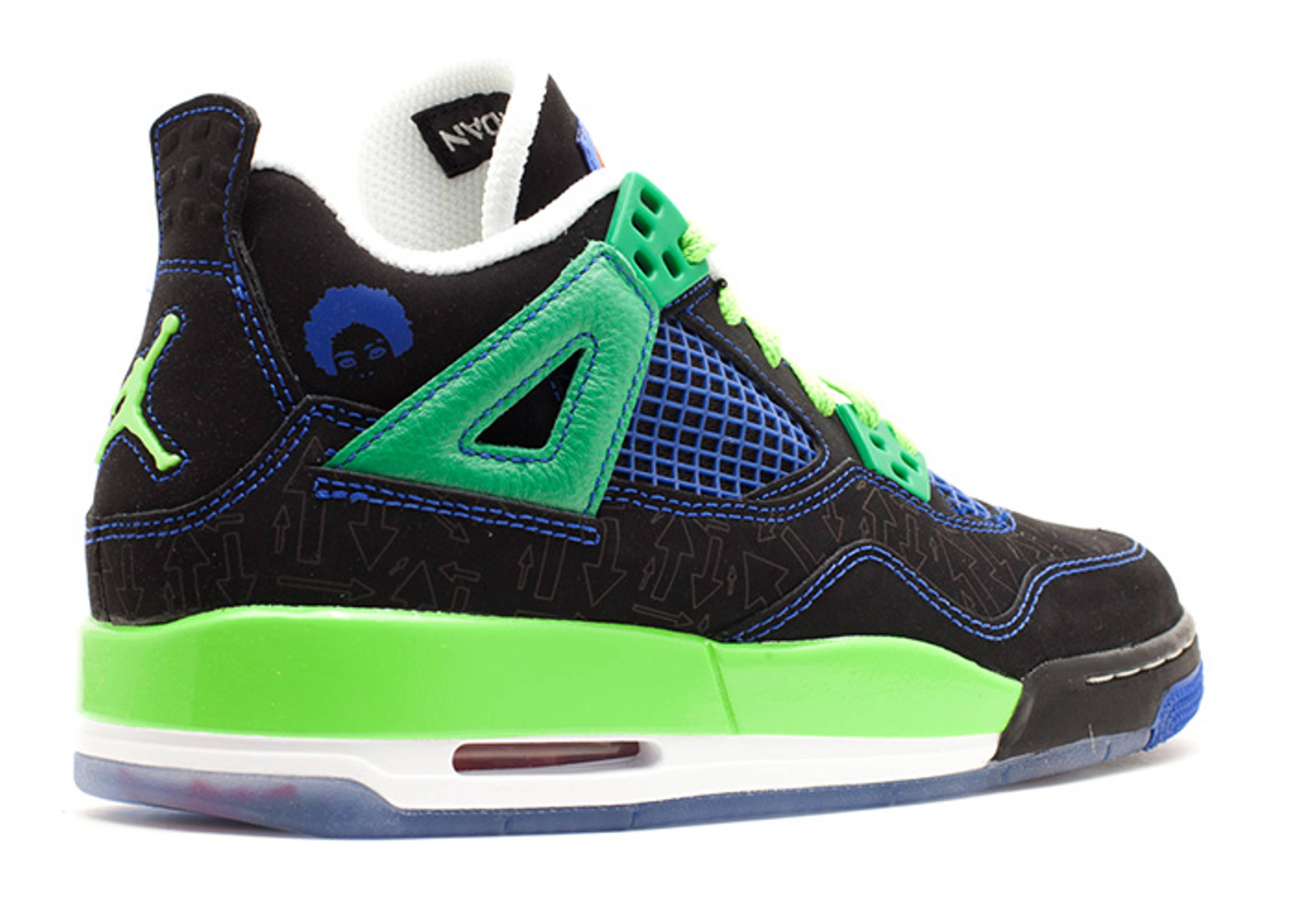 20435476475ff2 ... Air Jordan 4 Retro Db (gs) ... Air Jordan 4 Retro Doernbecher Superman  Black Old Royal-Electric Green- ...