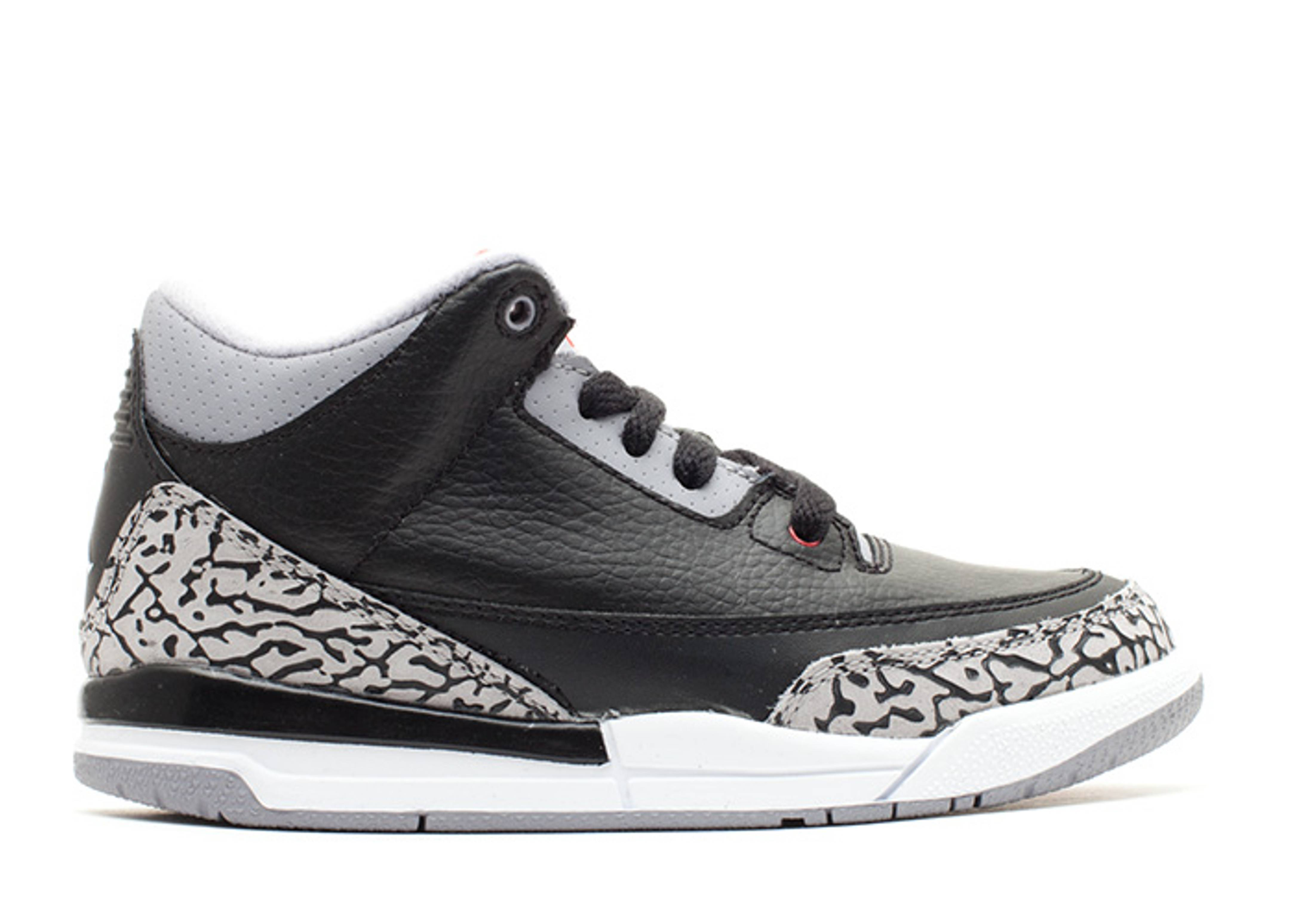"air jordan 3 retro (ps) ""2011 release"""