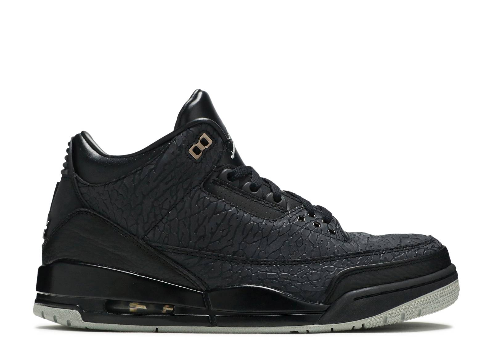 7a47932b2854 Air Jordan Retro 3 Flip - Air Jordan - 315767 001 - black metallic ...