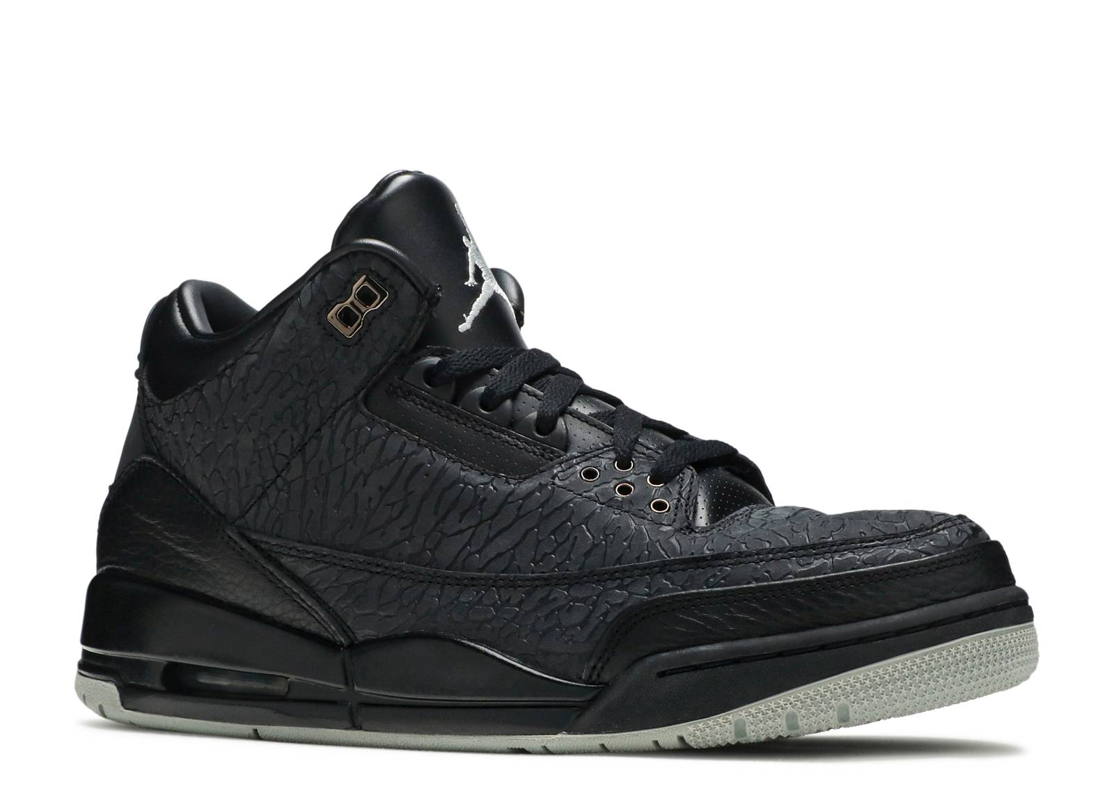 air jordan retro 3 all black