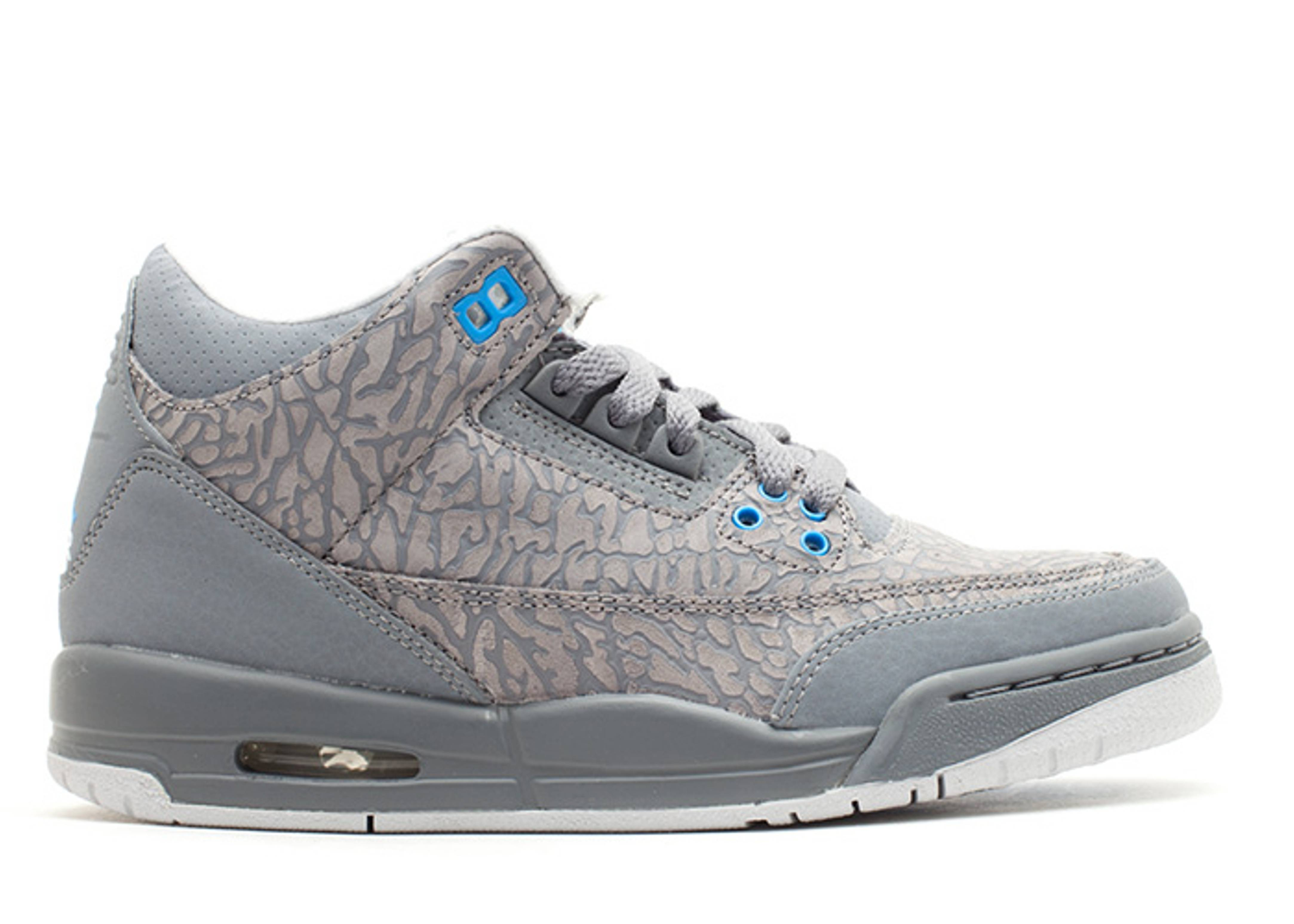 girls air jordan 3 retro (gs)