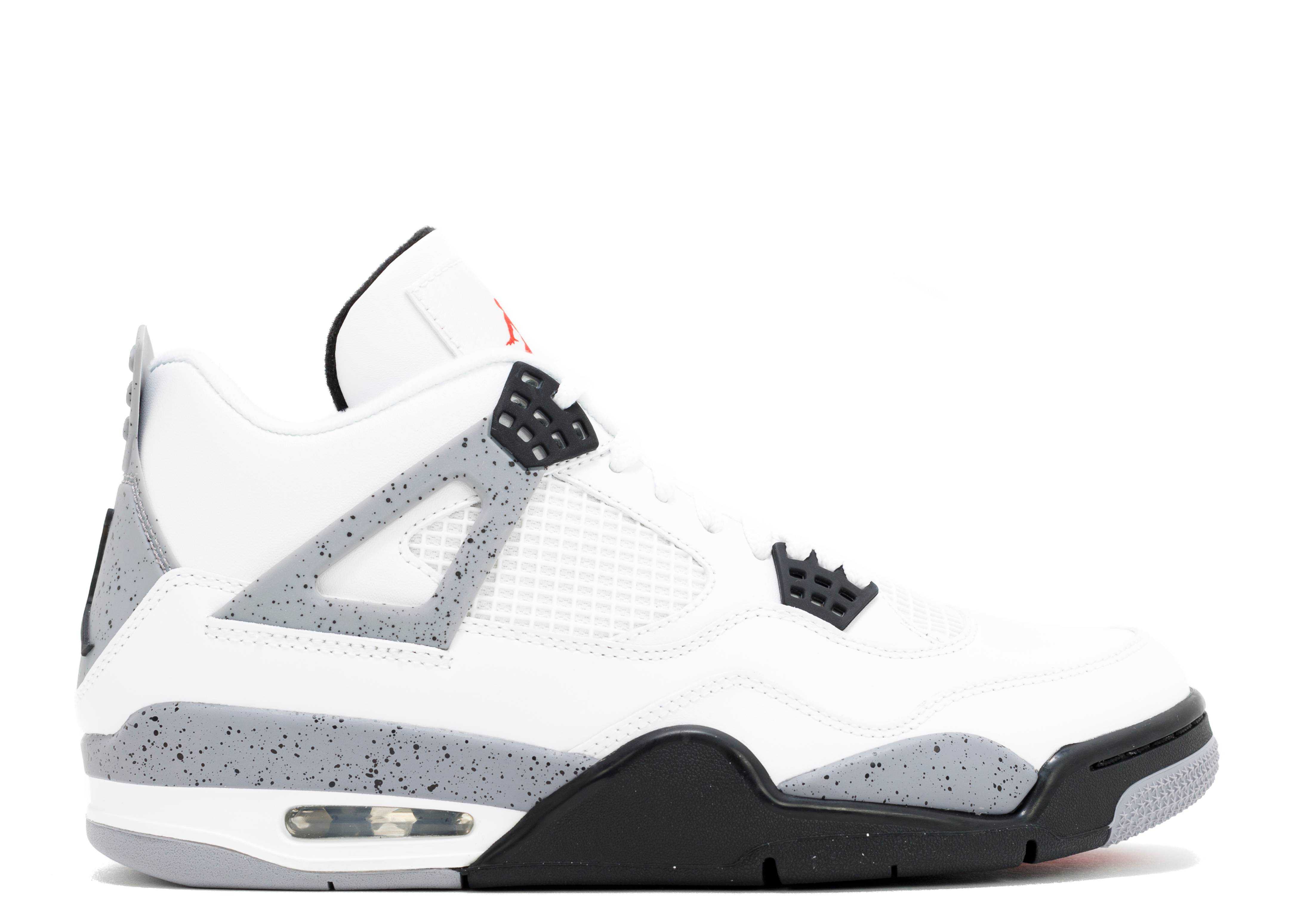 Nike Air Jordan 4 White Cement 2012