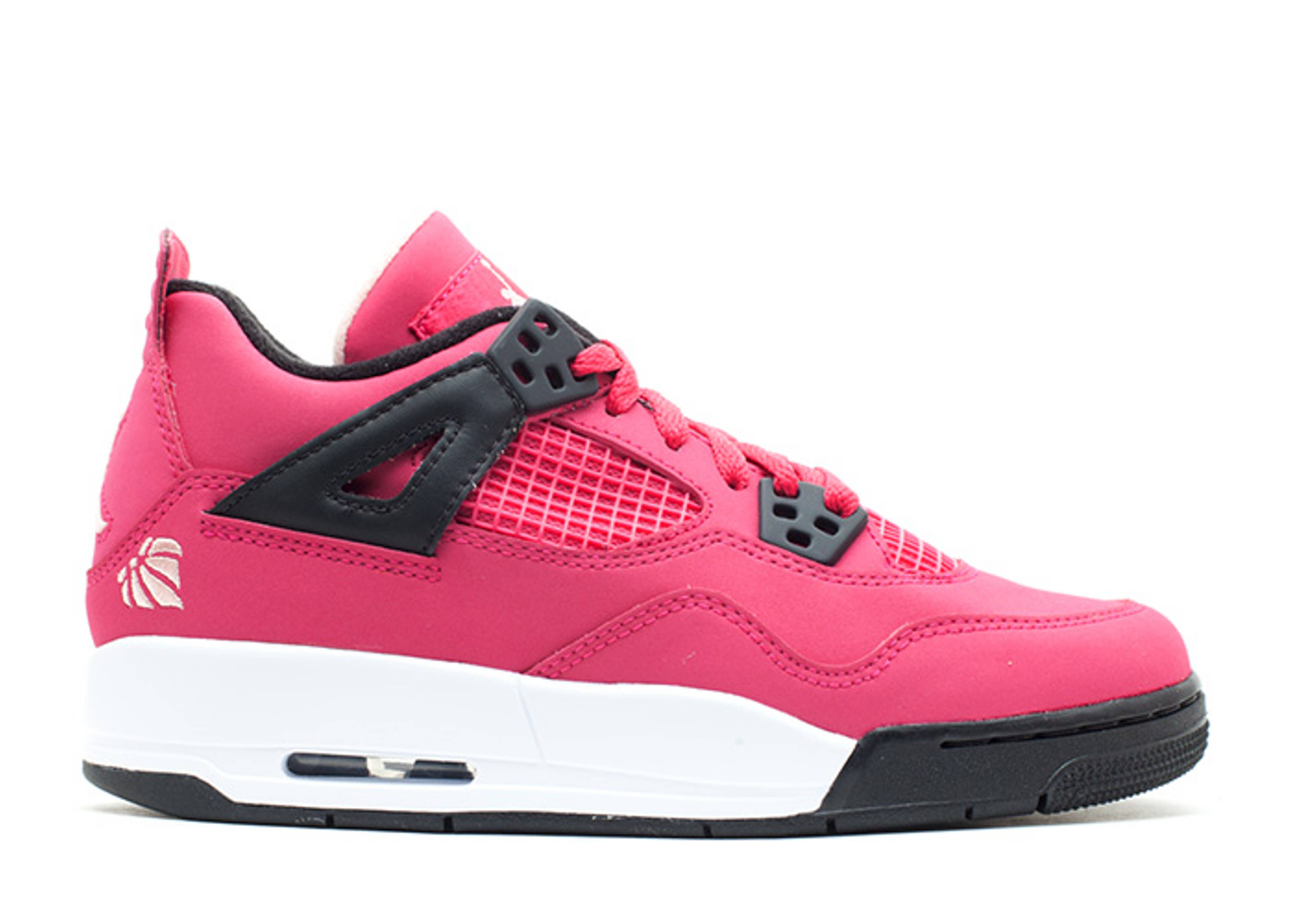 2b22c0f891da Girls Air Jordan 4 Retro (gs) - Air Jordan - 487724 601 - voltage ...