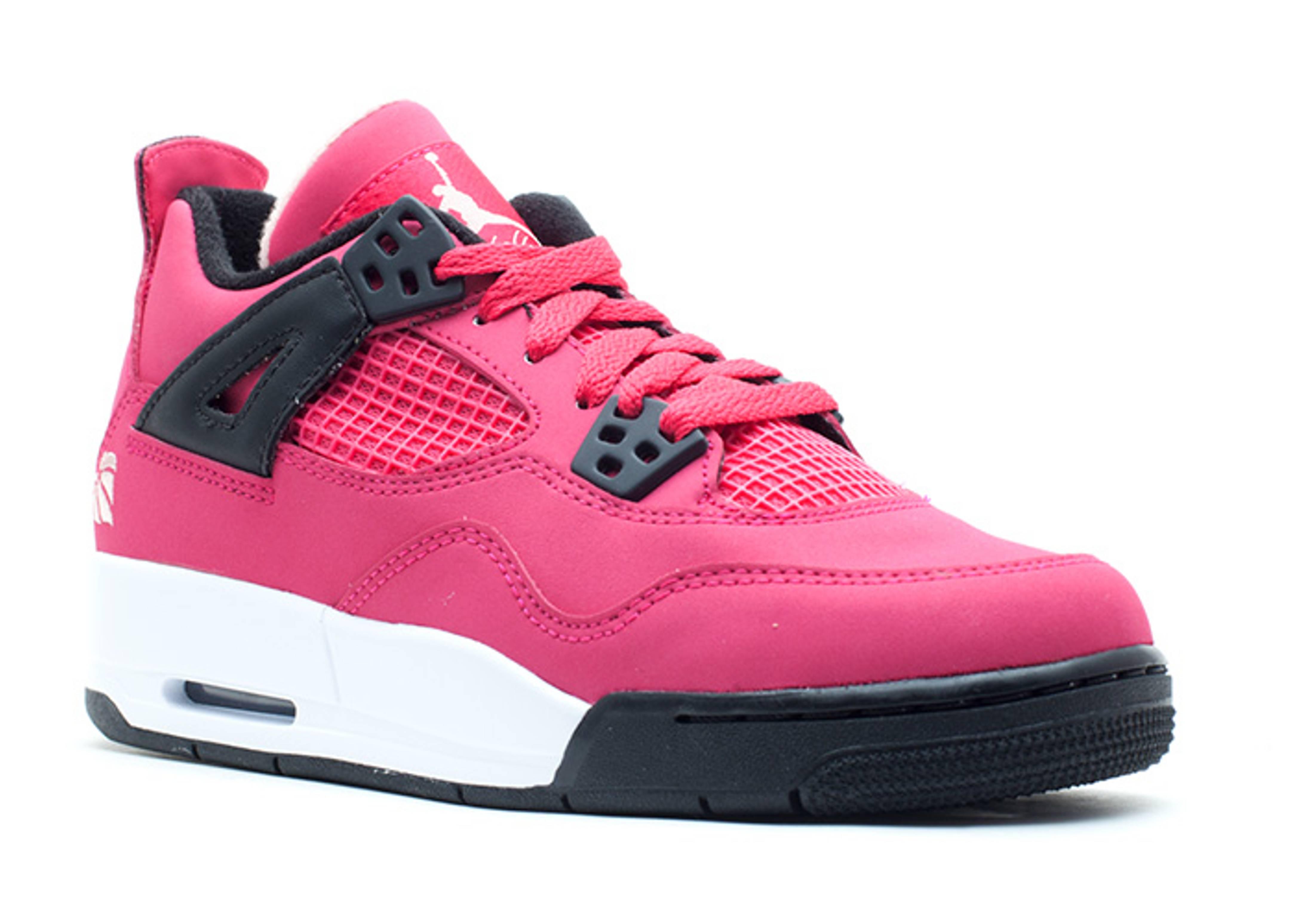 b855e2502e1888 Girls Air Jordan 4 Retro (gs) - Air Jordan - 487724 601 - voltage cherry- white-black