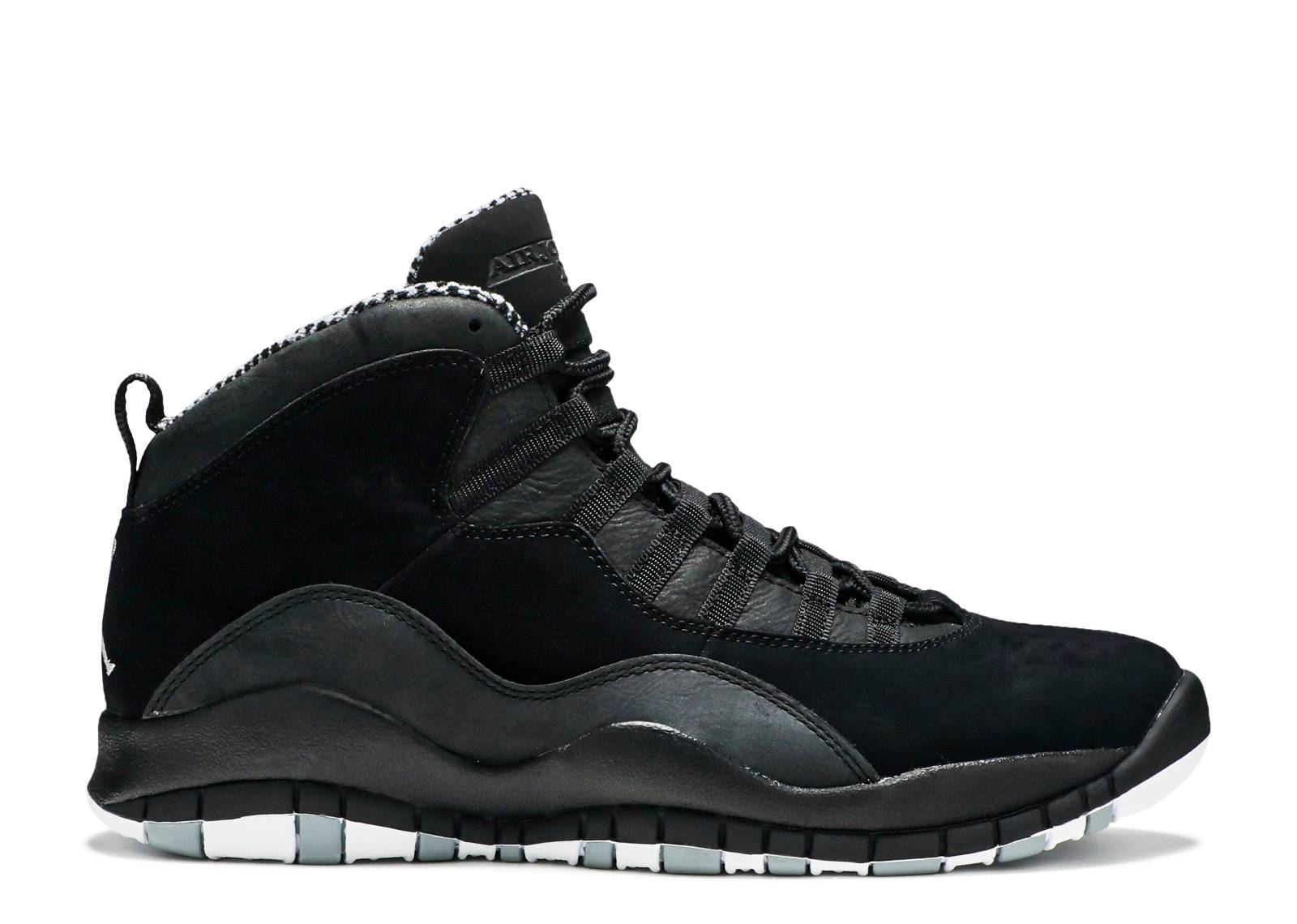 black and white jordan retro 10