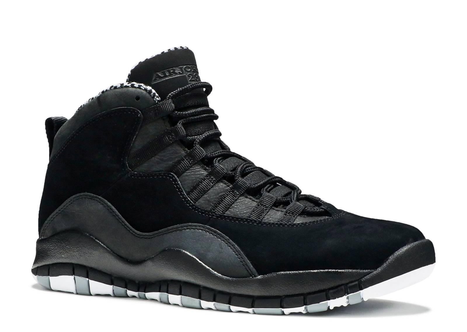 air jordan 10 black stealth