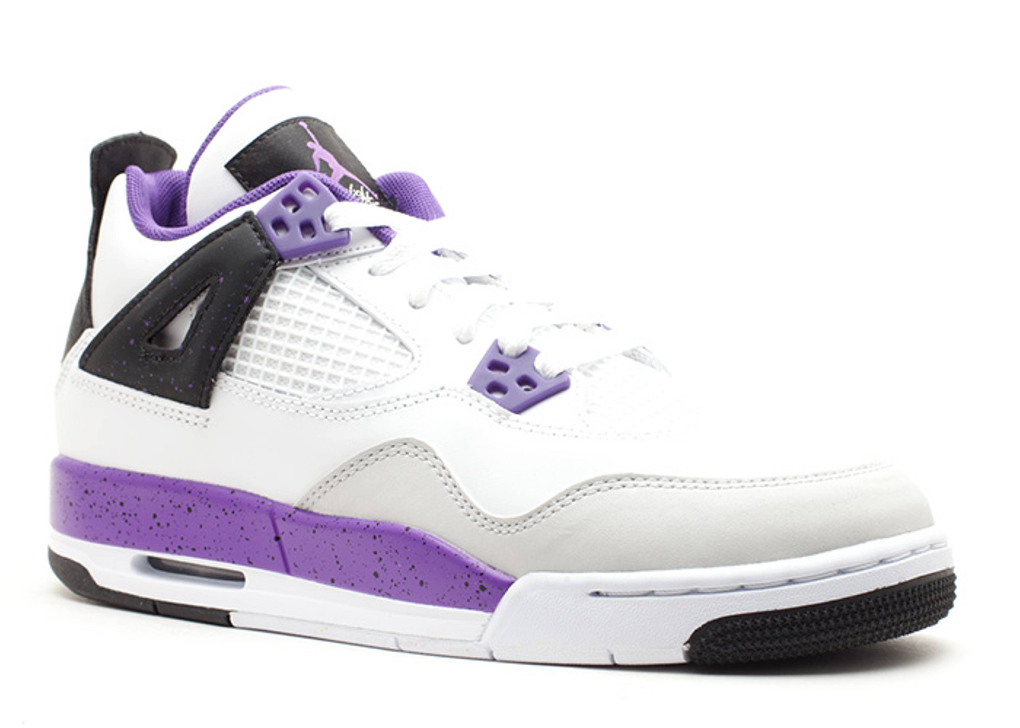 air jordan retro 4 all purple