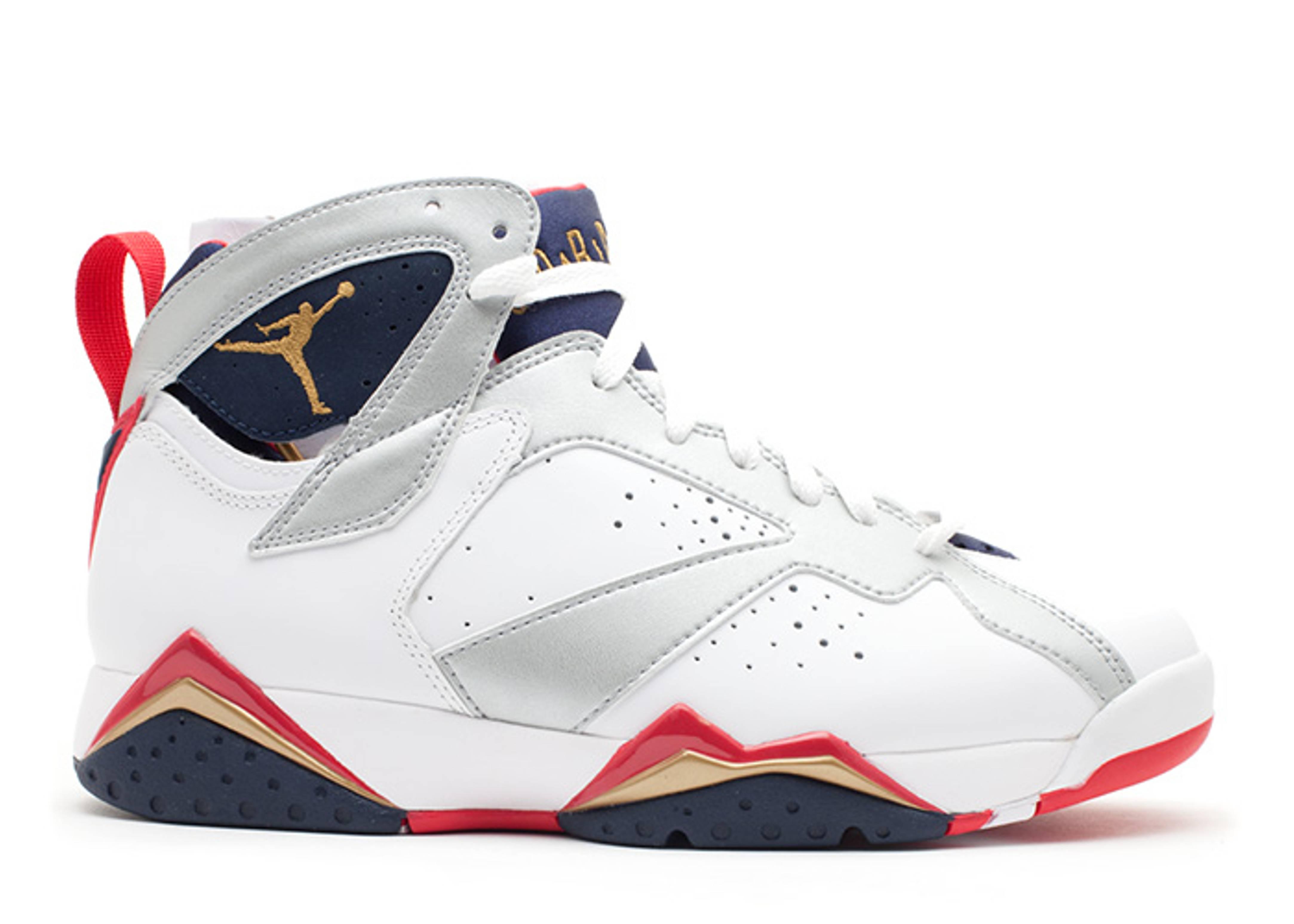 """air jordan 7 retro """"olympic 2012 release"""""""