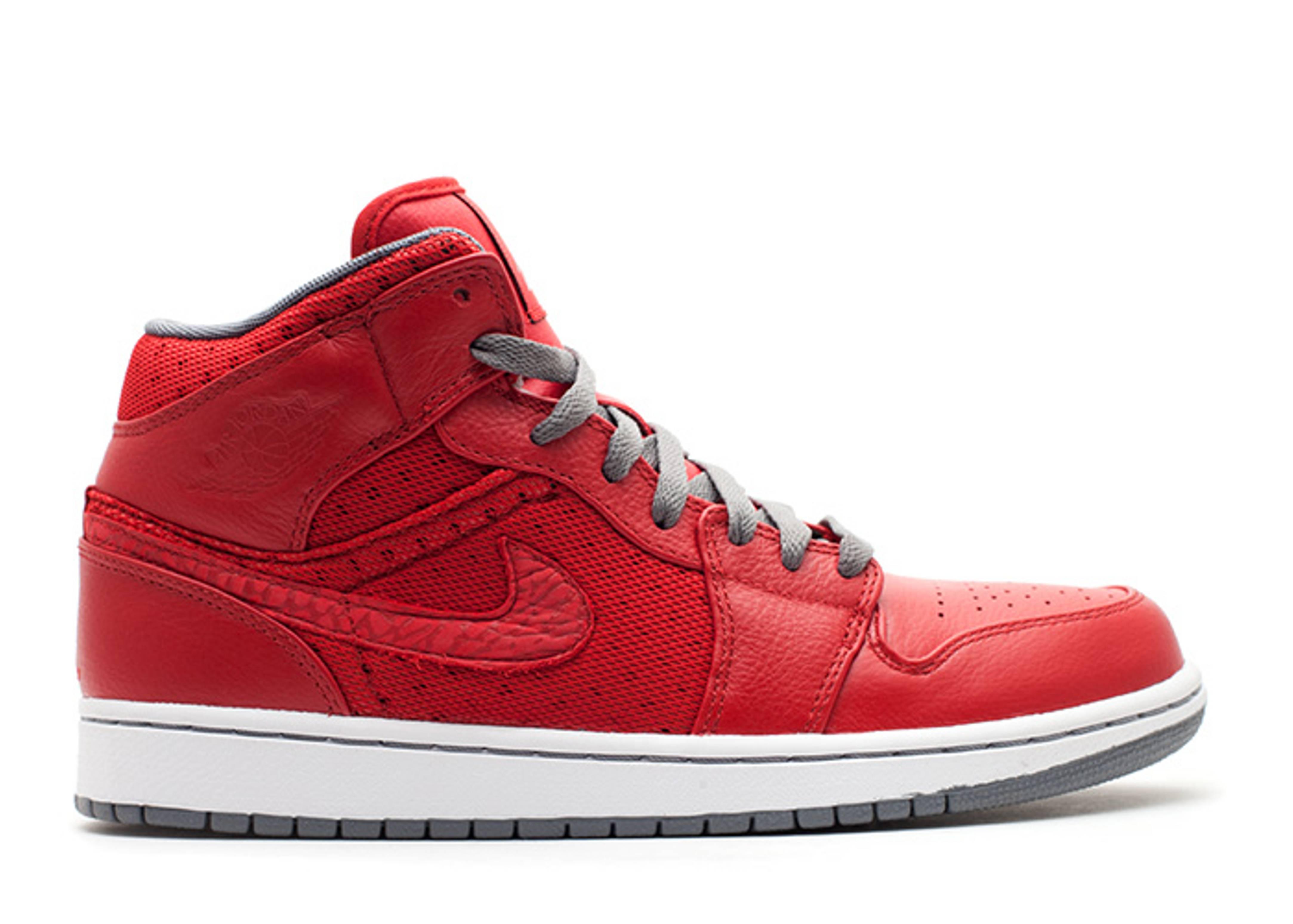 569fdc87d11c77 Air Jordan 1 Phat - Air Jordan - 364770 602 - varsity red cool grey-white