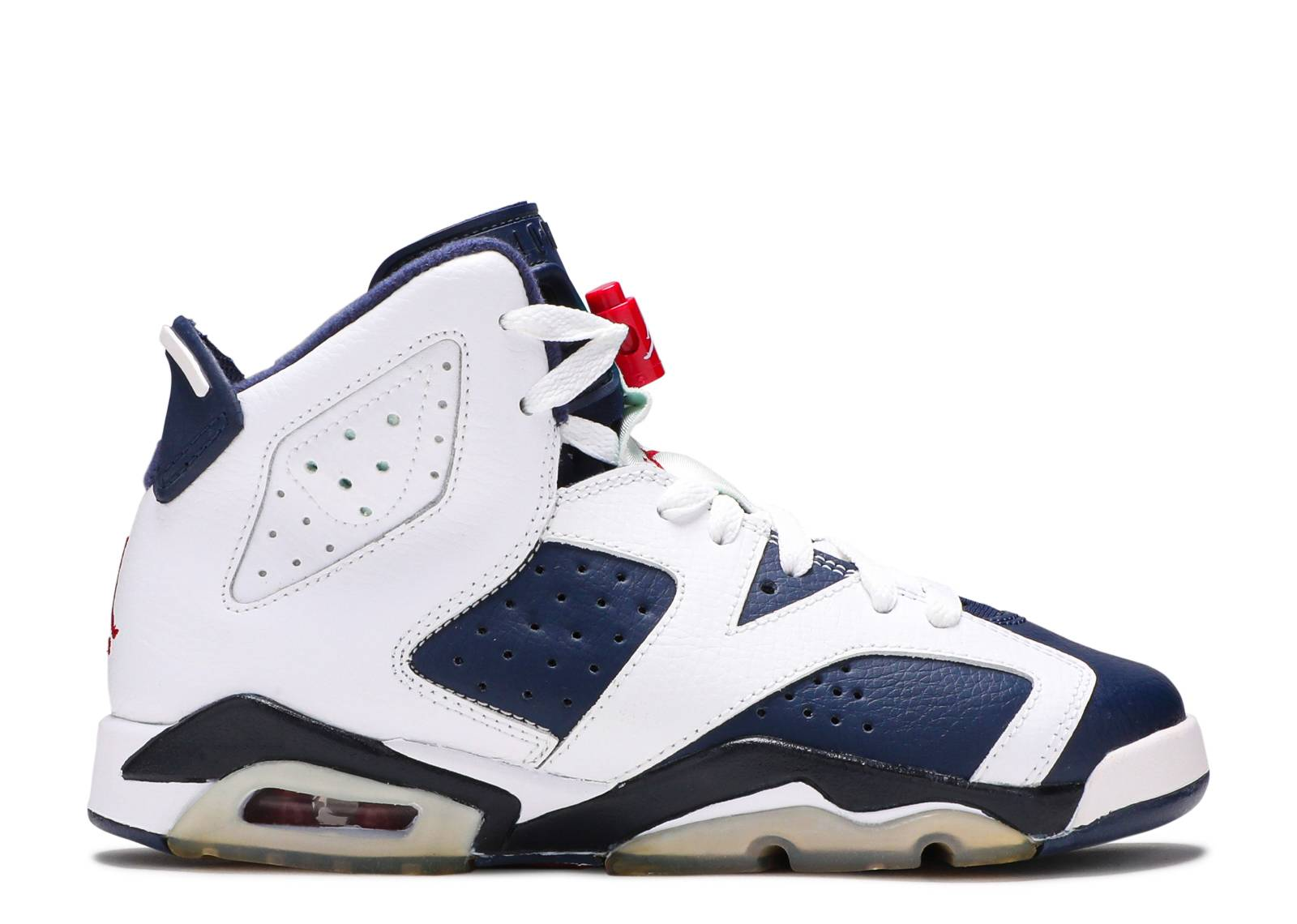 "air jordan 6 retro (gs) ""olympic 2012 release"""