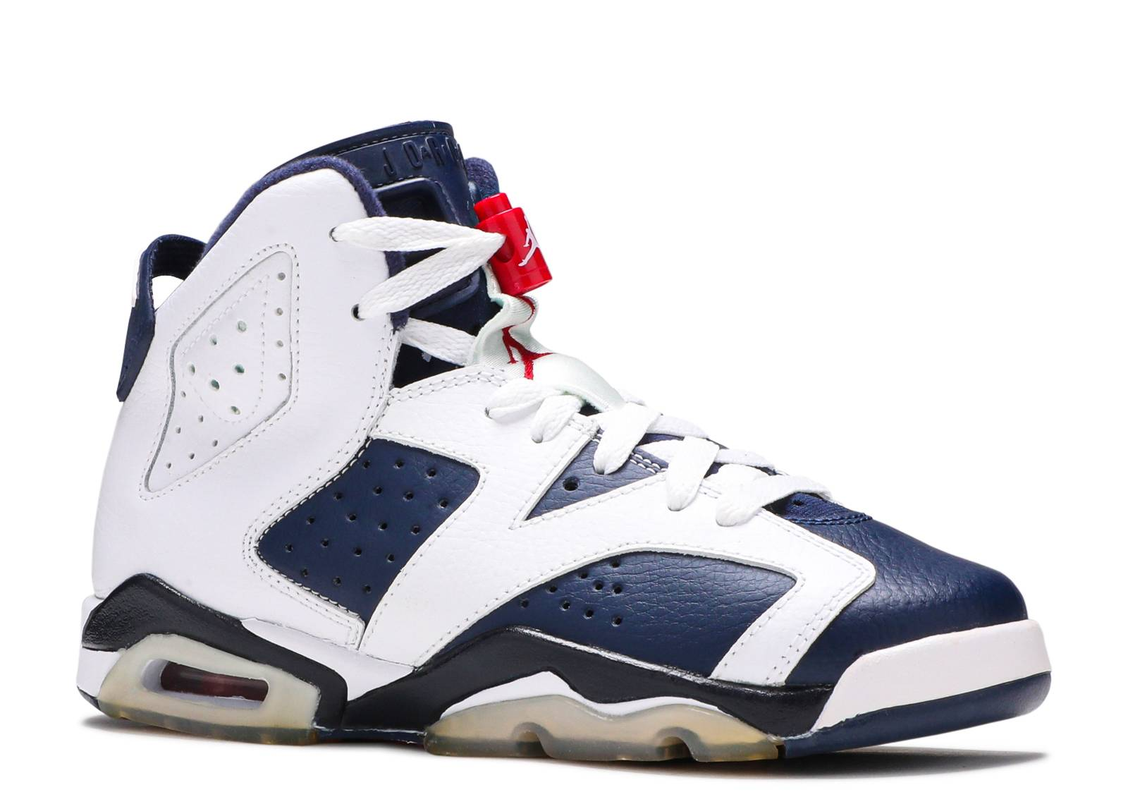 Air Jordan 6 Retro (gs) 'Olympic 2012 Release' - 384665-130 - Size 4.5 fIvrKoDME3