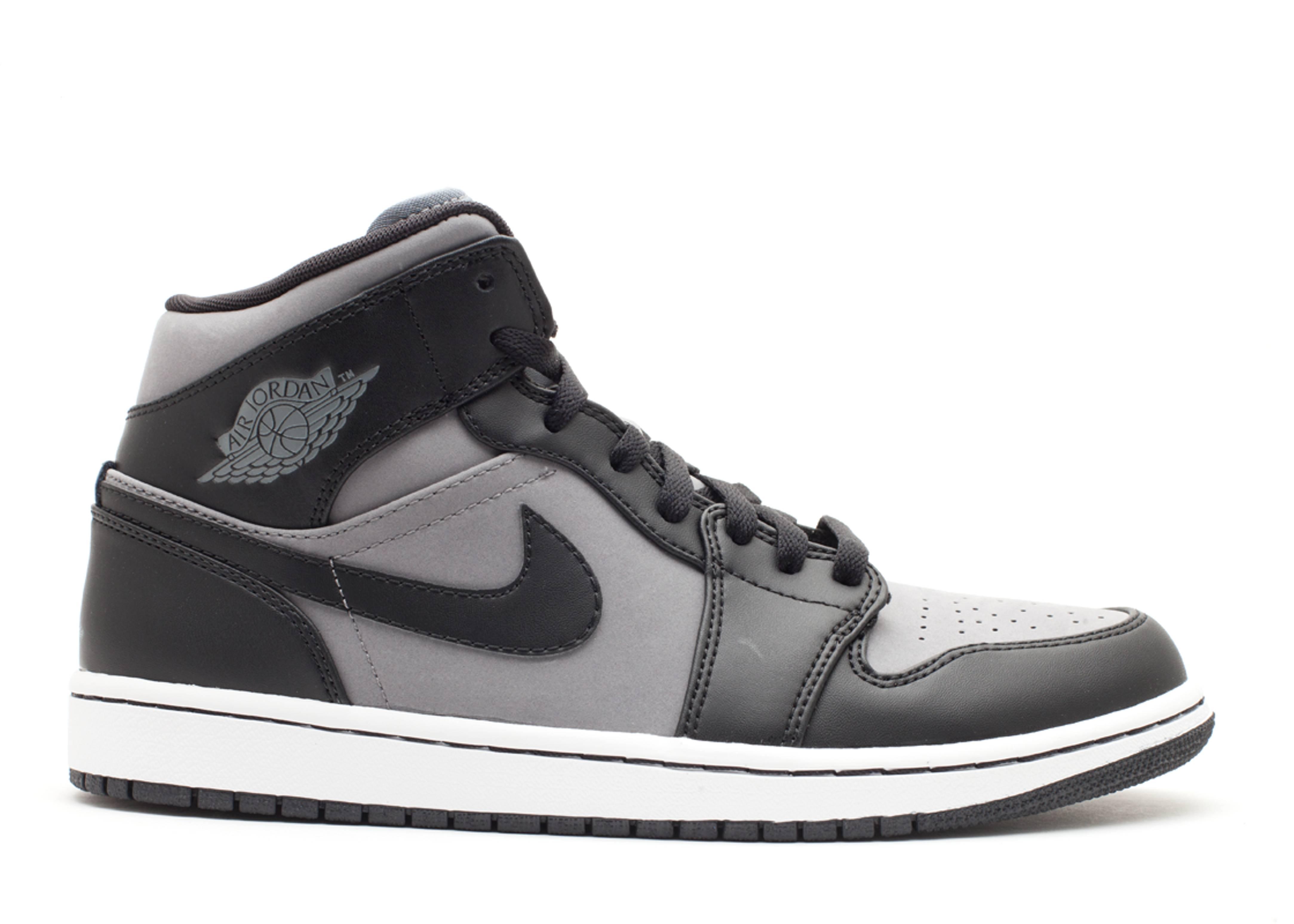 Air Jordan 1 Mid - Air Jordan - 364770 023 - cool grey black-white ... 5032e487a28d