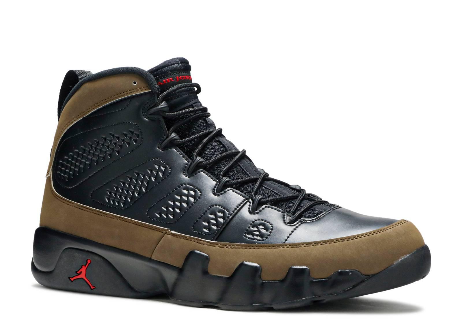 "air jordan 9 retro ""olive 2012 release"""