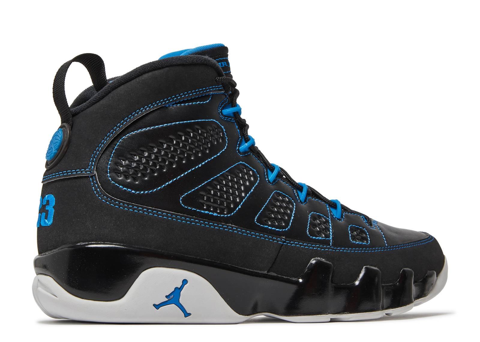 size 40 53feb e8110 air jordan retro 9 black blue
