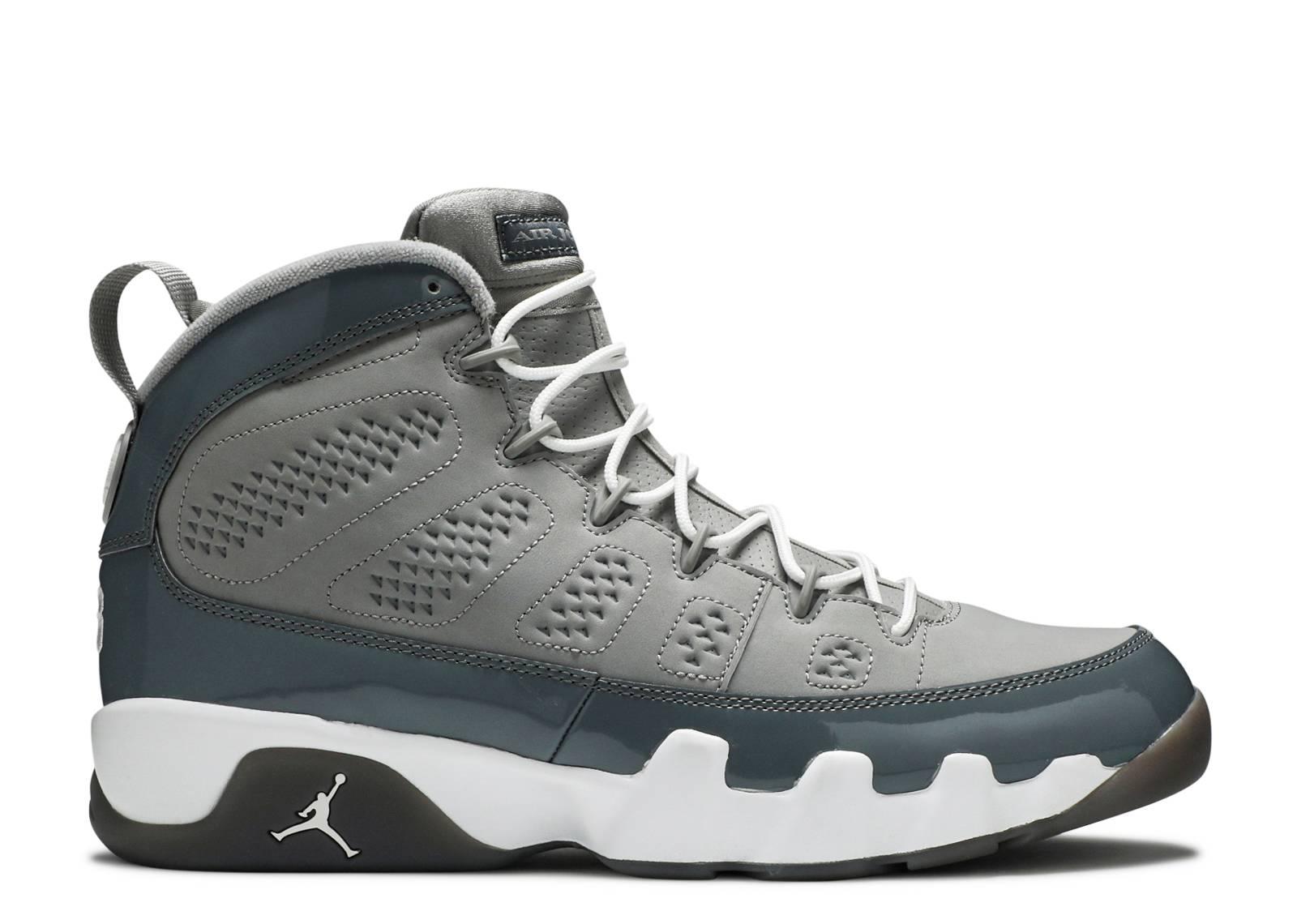 """air jordan 9 retro """"cool grey 2012 release"""""""