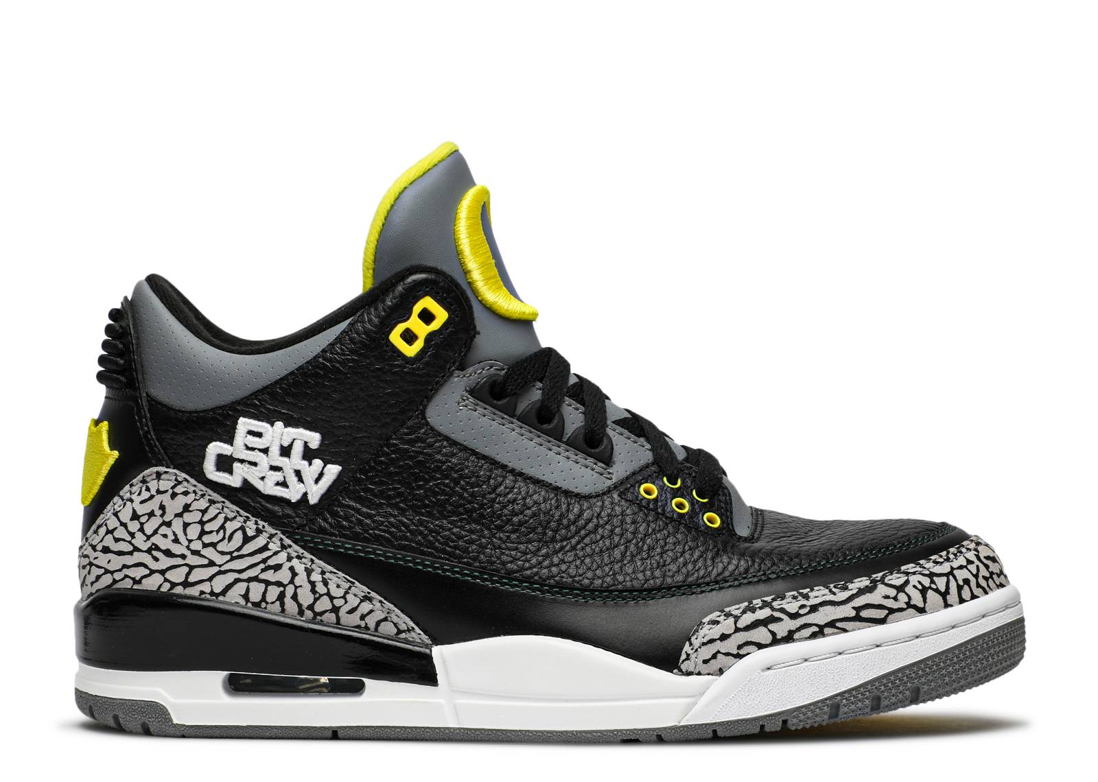 "air jordan 3 retro ""oregon pit crew"""