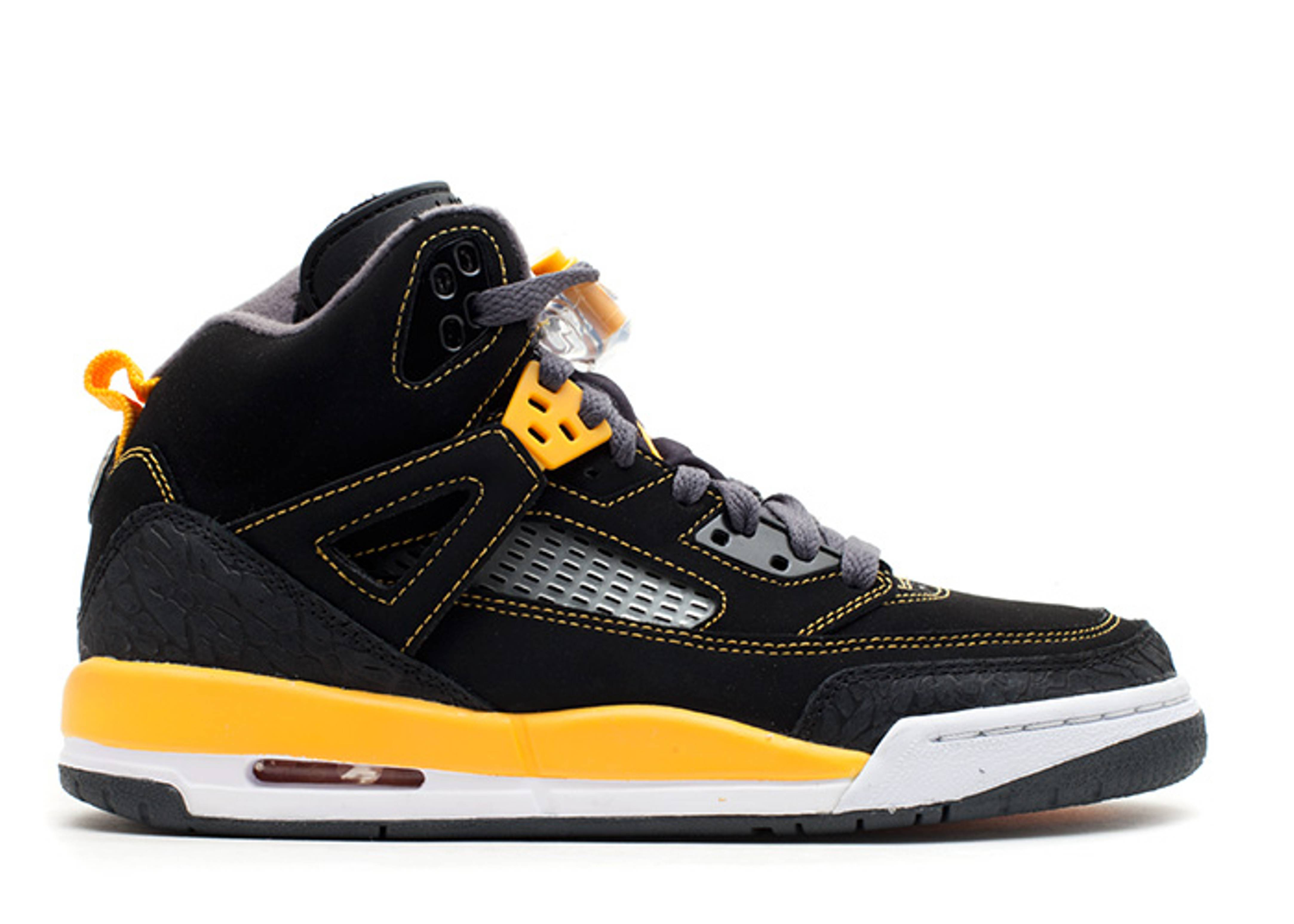 jordan spizike black yellow