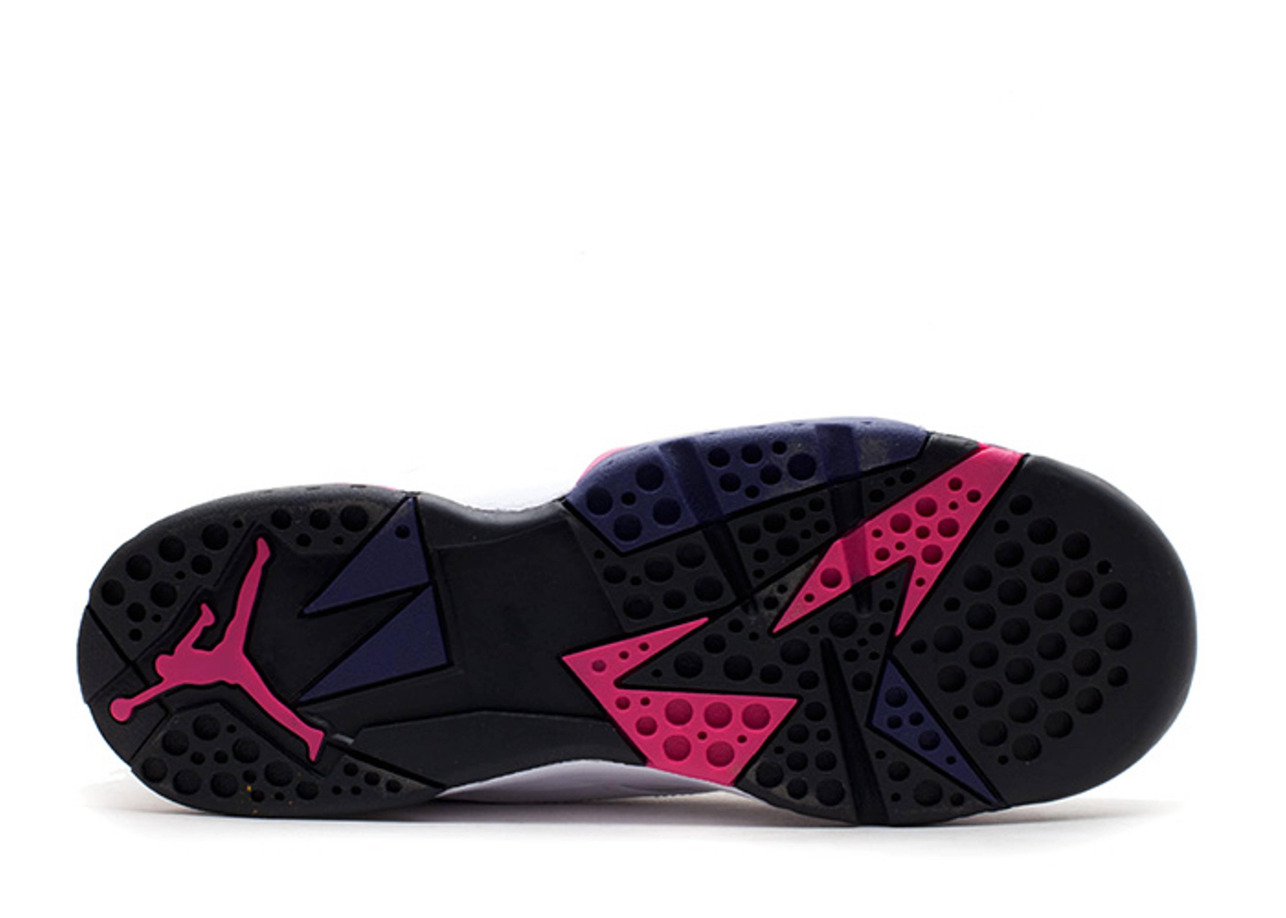 be8a03bf31be Girls Air Jordan 7 Retro (gs) - Air Jordan - 442960 117 - white fireberry-black-night  bl