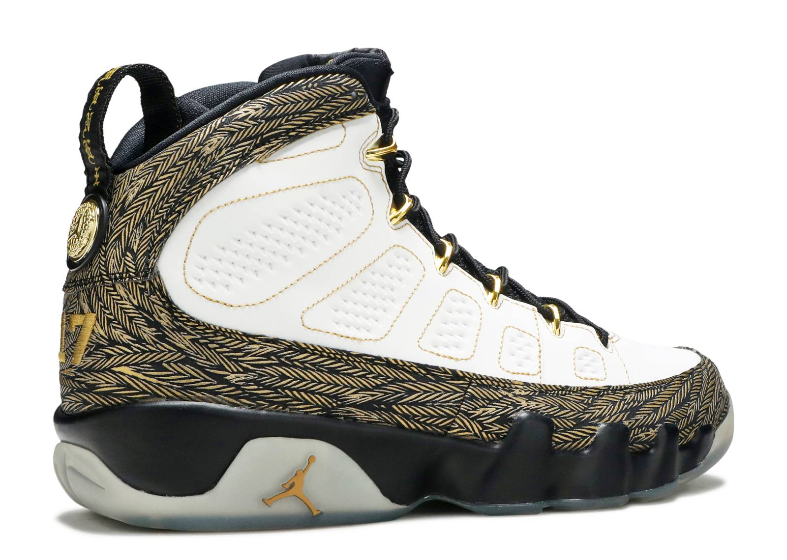 the latest c3cc0 b40da ... ireland air jordan 9 retro db doernbecher air jordan 580892 170 white  metallic gold black flight