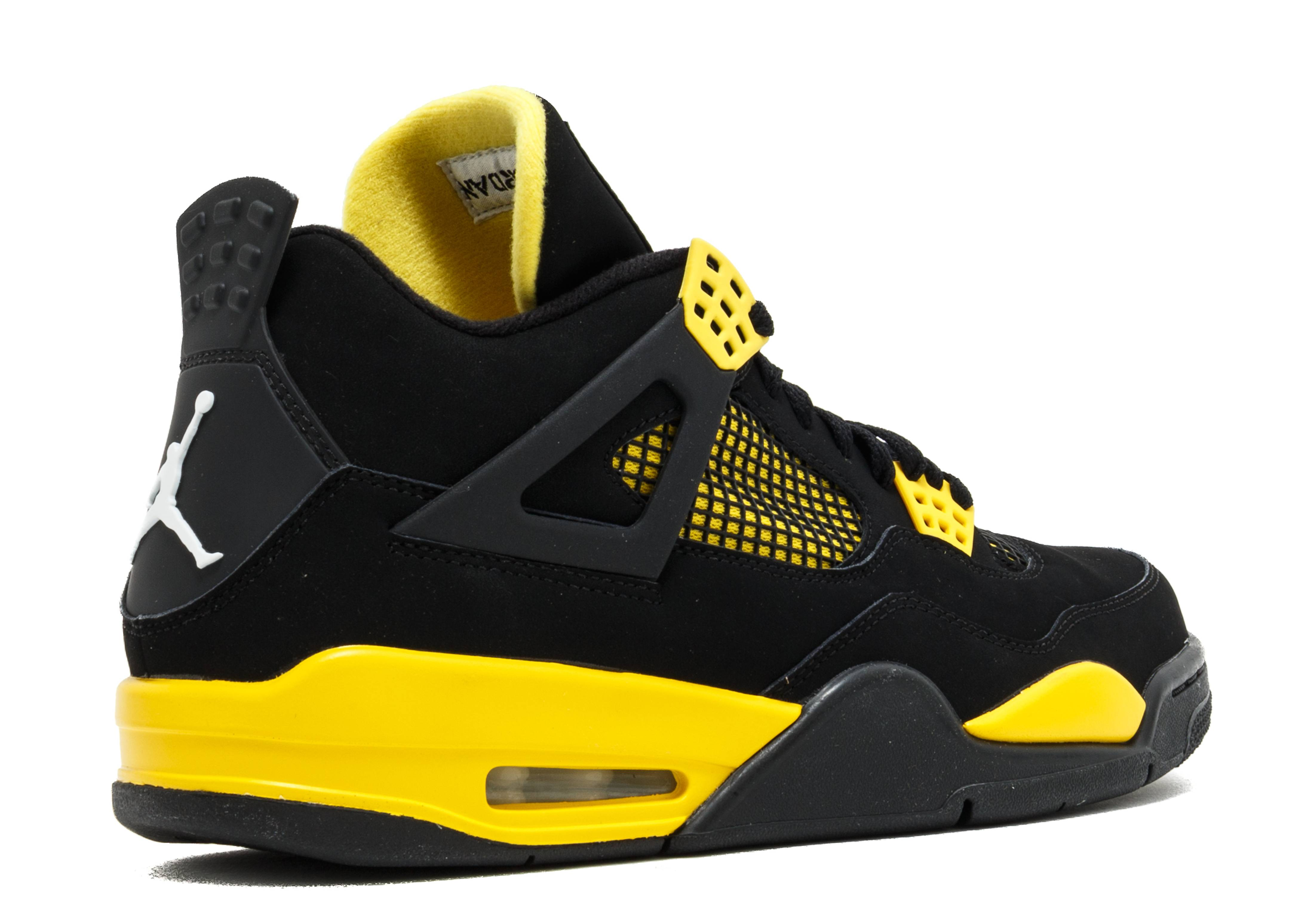 air jordan black yellow