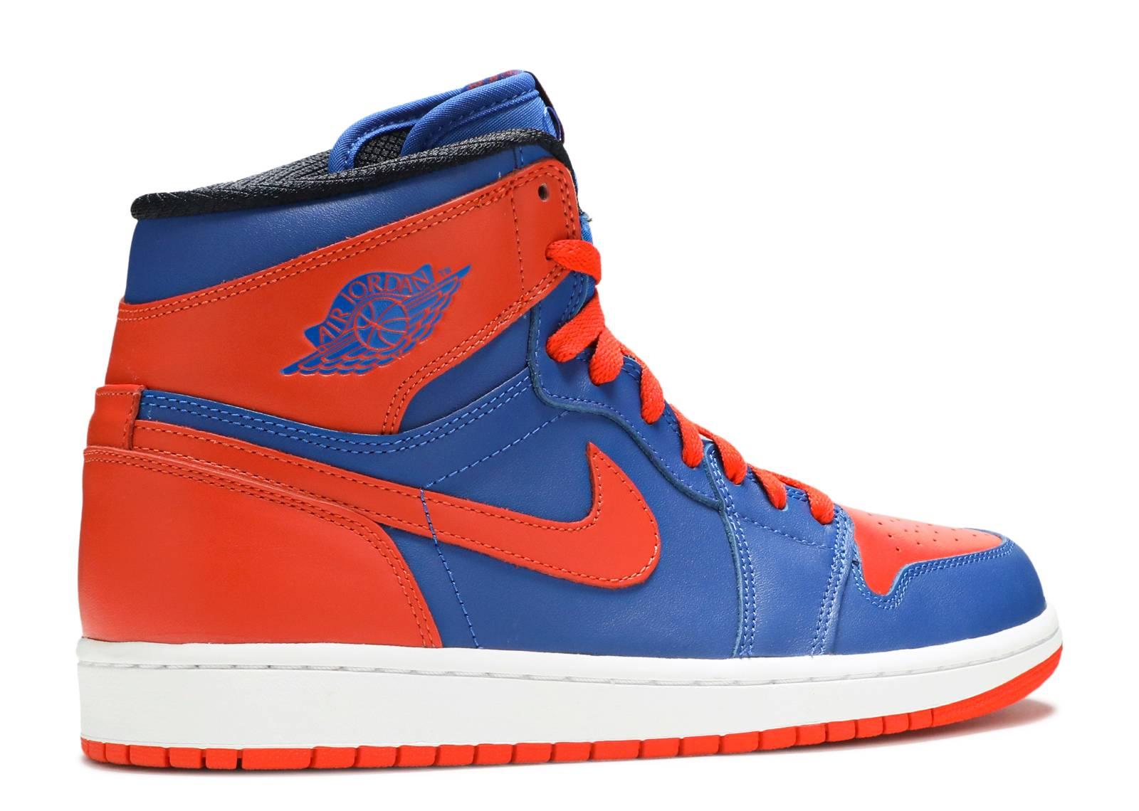 Air Jordan 1 Retro High Og Blue And Orange