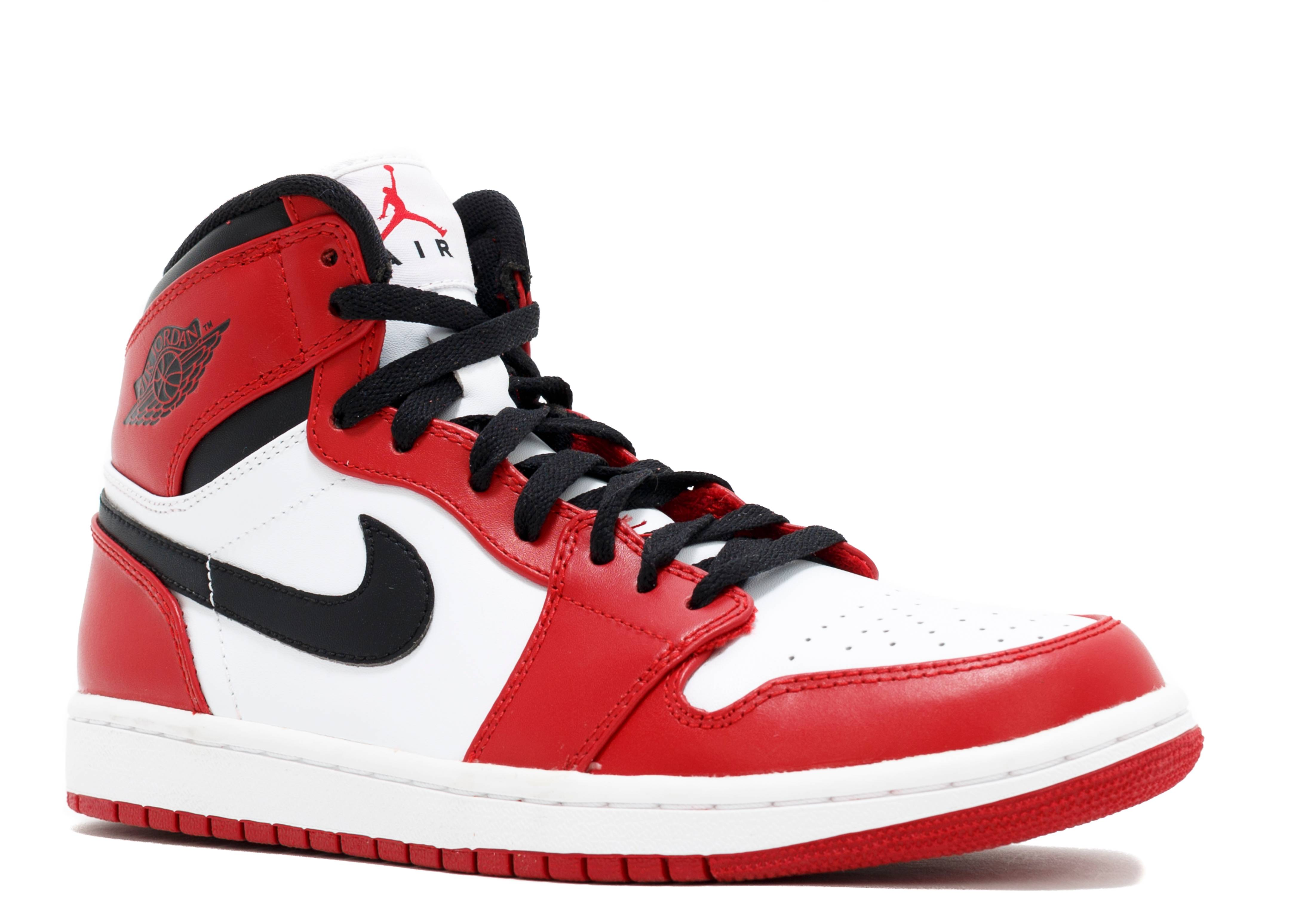 air jordan 1 black red white
