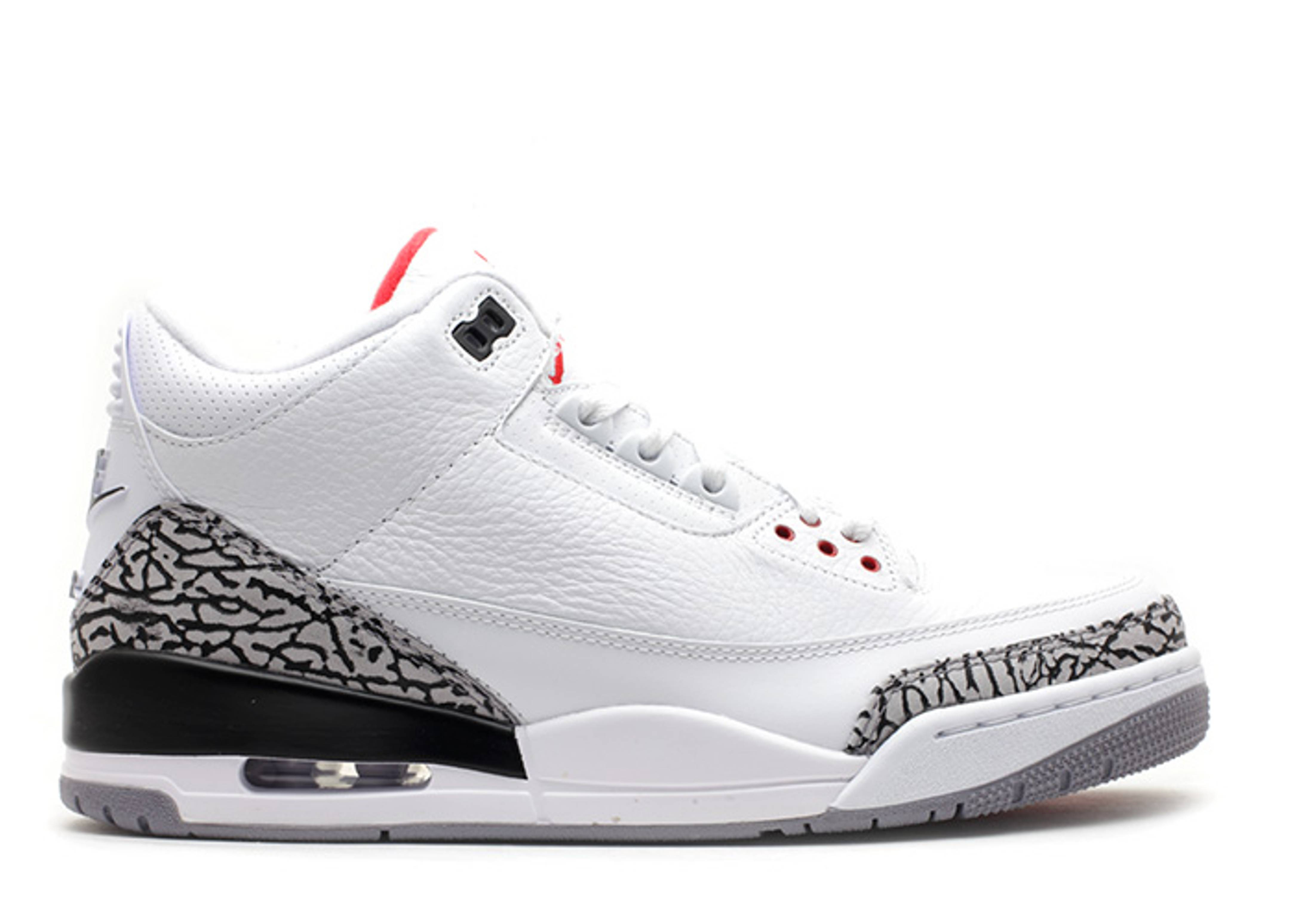 nike shox tw premium - air jordan 3 retro 88 - white/fire red-cement grey-black | Flight Club