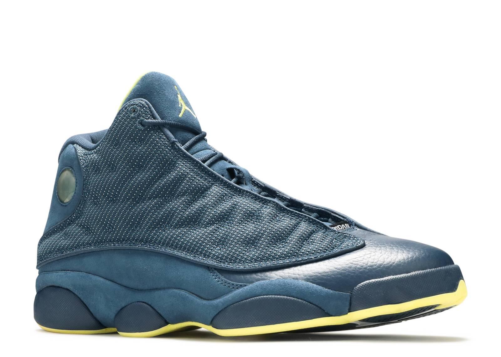 Air Jordan 13 Black And Yellow
