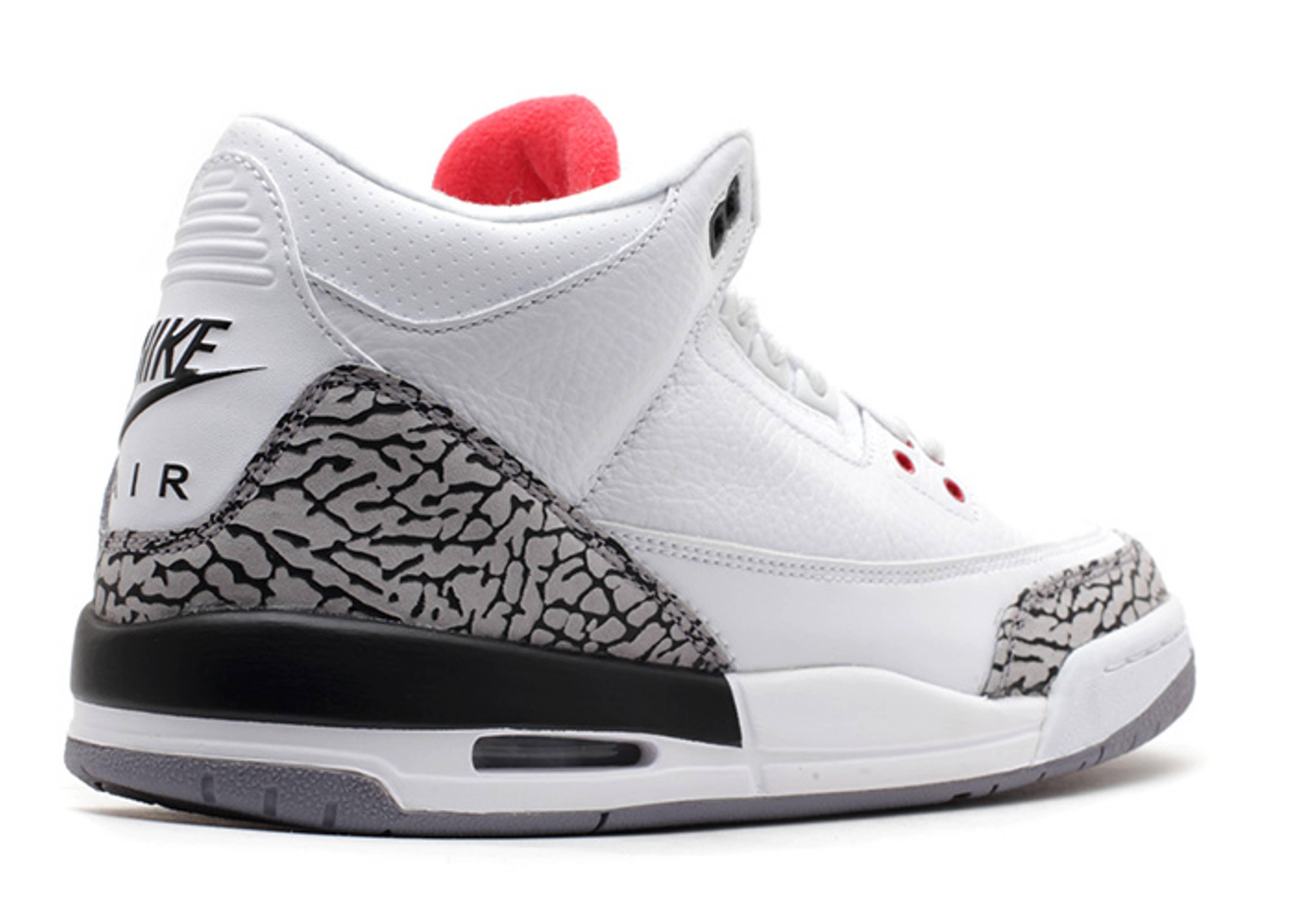 Jordan 3s Cement Gray : Air jordan retro gs