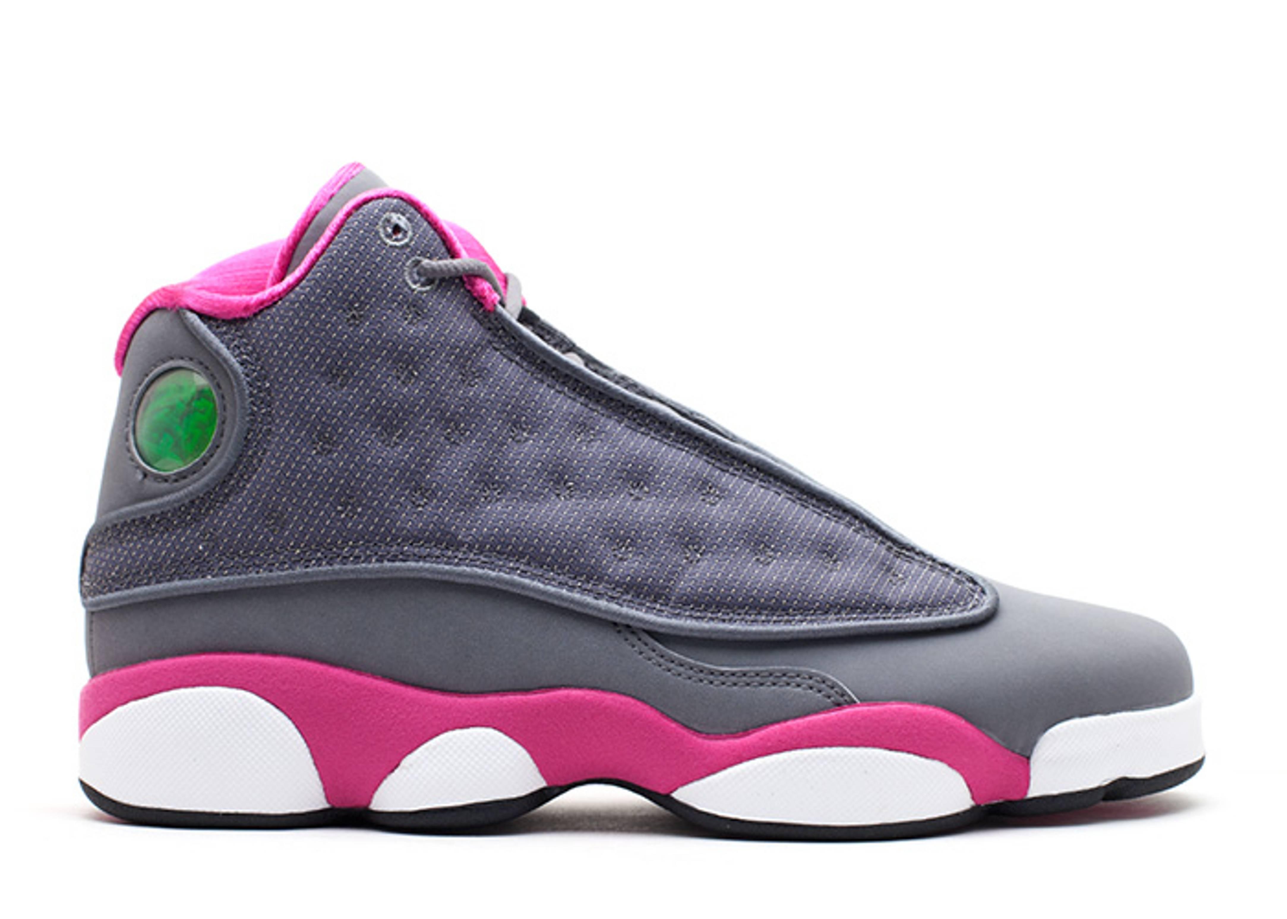 jordan 13 pink and gray ab116c636