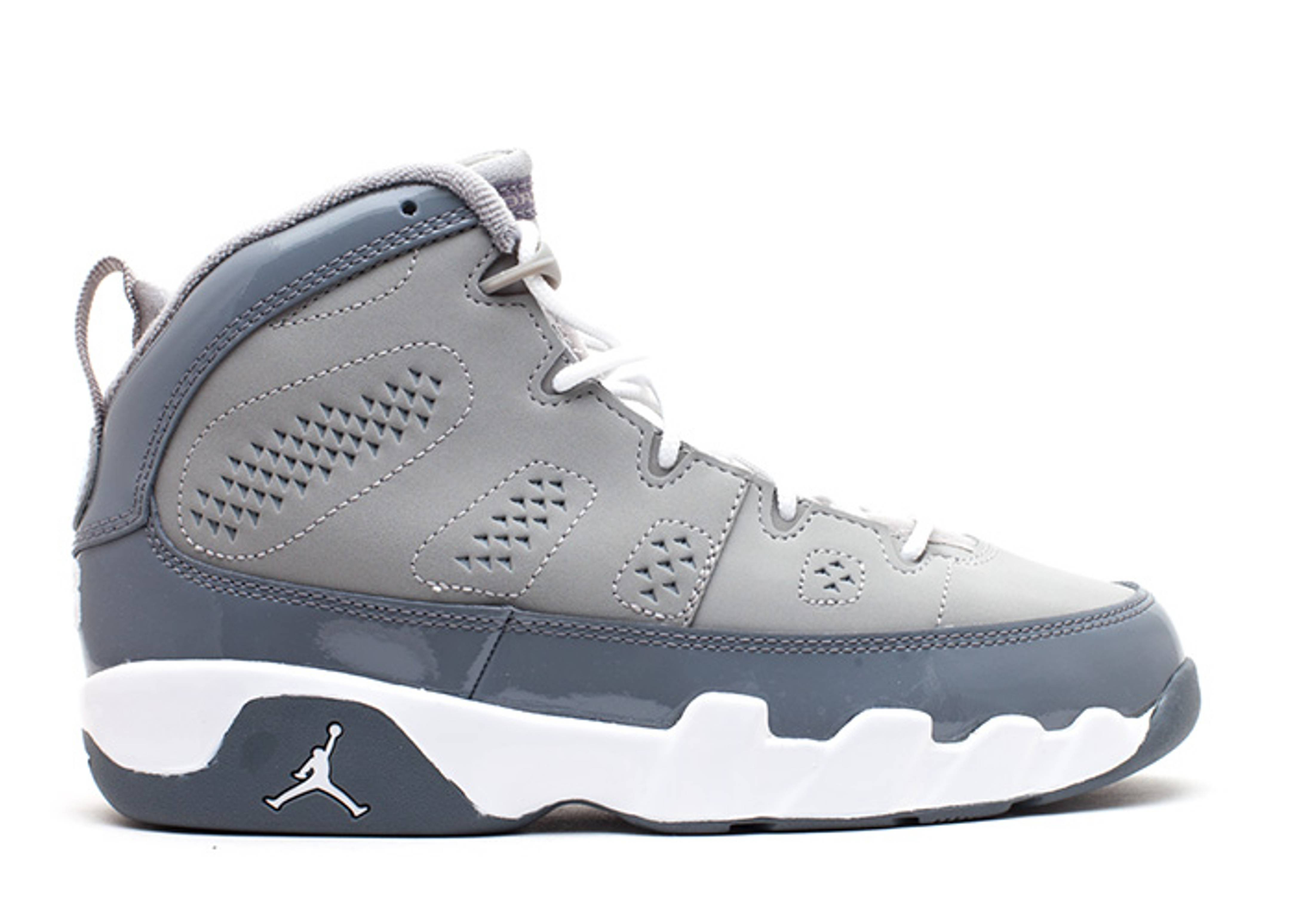 "jordan 9 retro (ps) ""cool grey"""