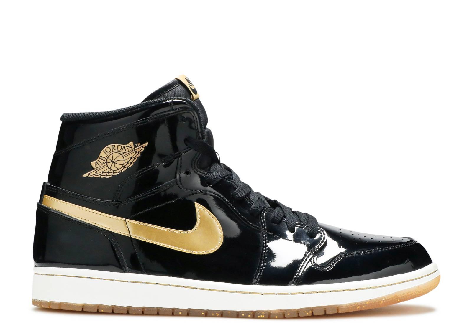 Air Jordan 1 Retro High OG 'Black Gold PL'