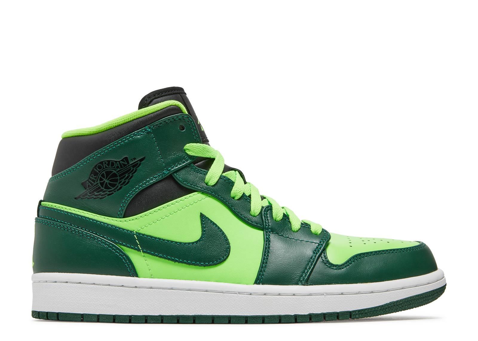 on sale f0f15 76e76 Air Jordan 1 Mid 'Hulk'
