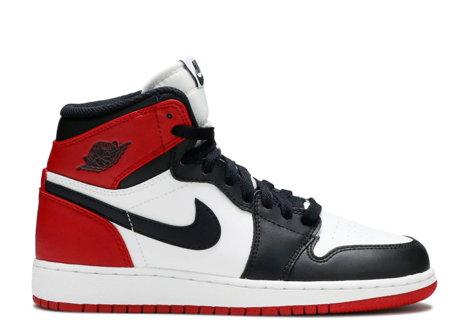 "air jordan 1 retro high og (gs) ""black toe"""
