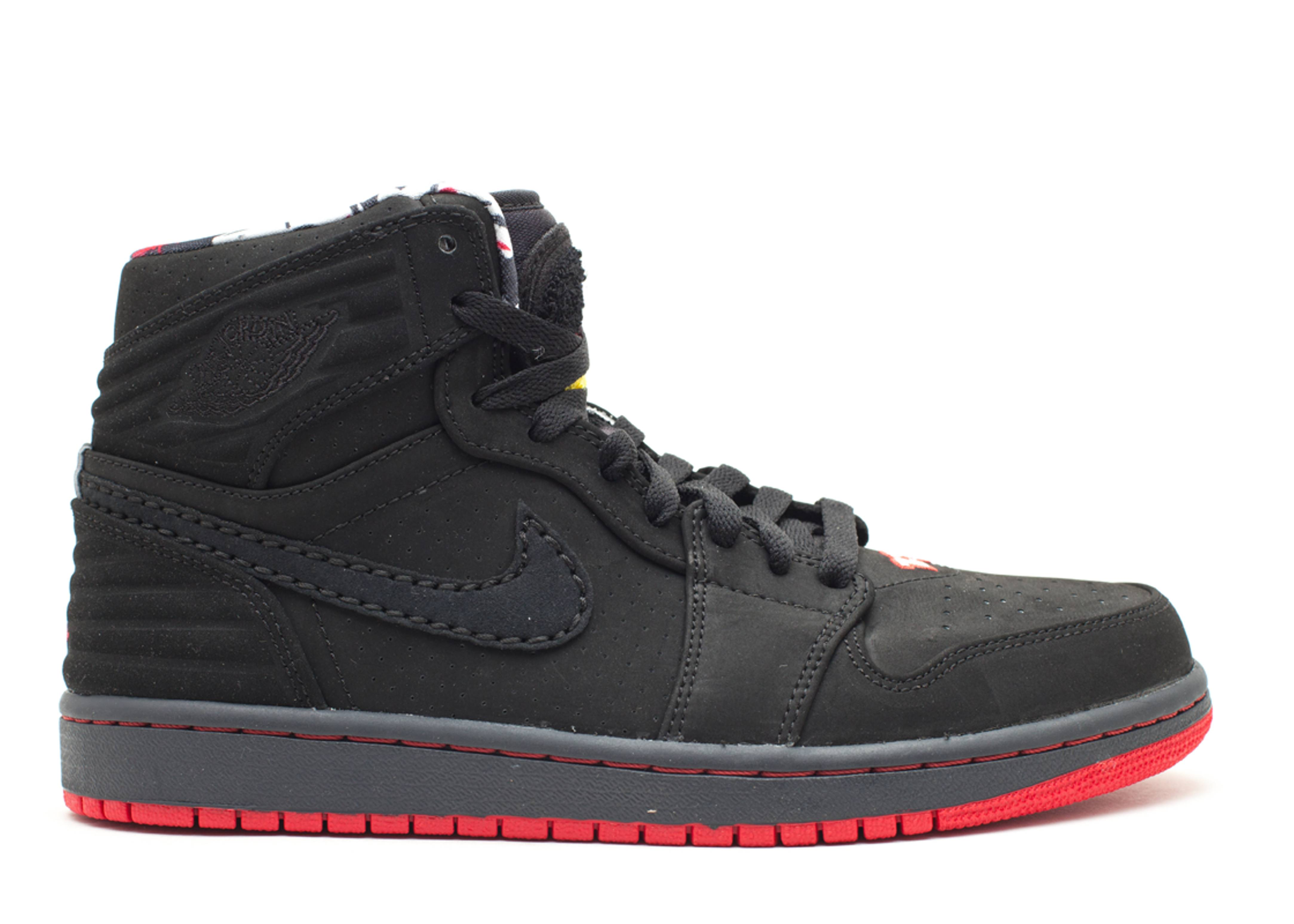 Air Jordan 1 Retro 93 - Air Jordan - 580514 032 - black black-true red-anthrct   957285f1e