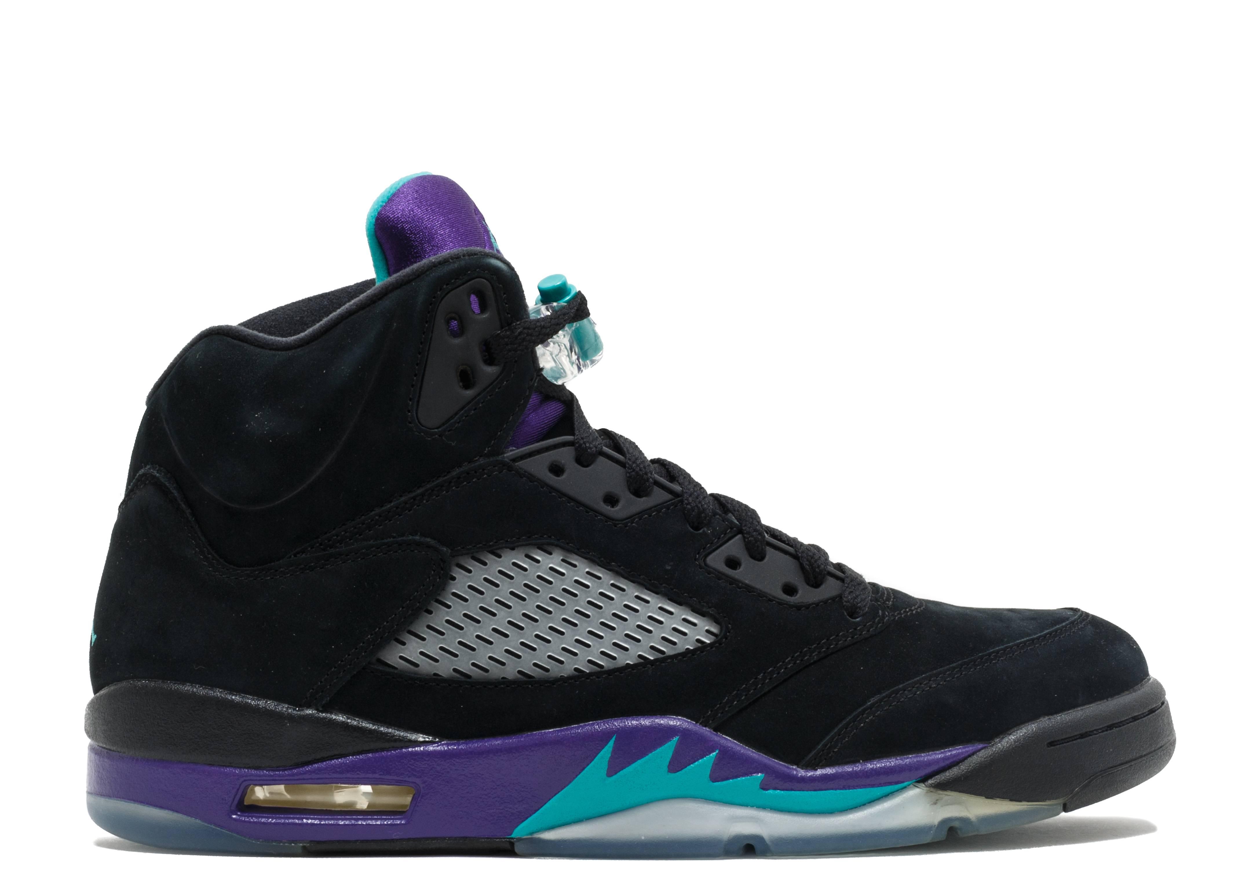 air jordan retro 5 black grape