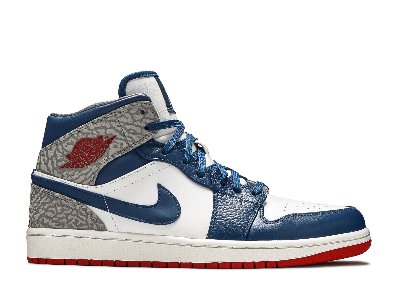 air jordan 1 mid light blau